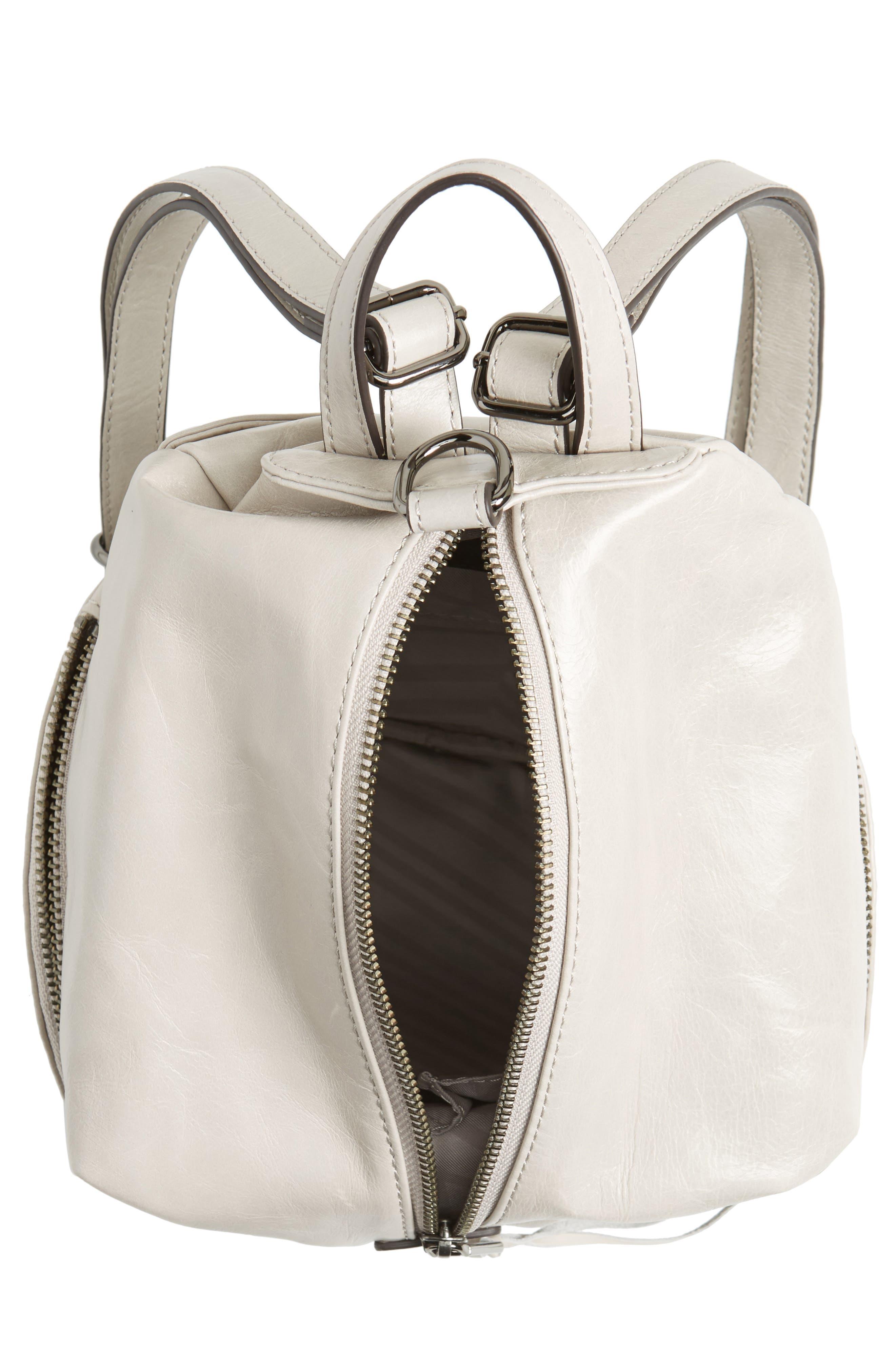 Medium Julian Leather Backpack,                             Alternate thumbnail 15, color,