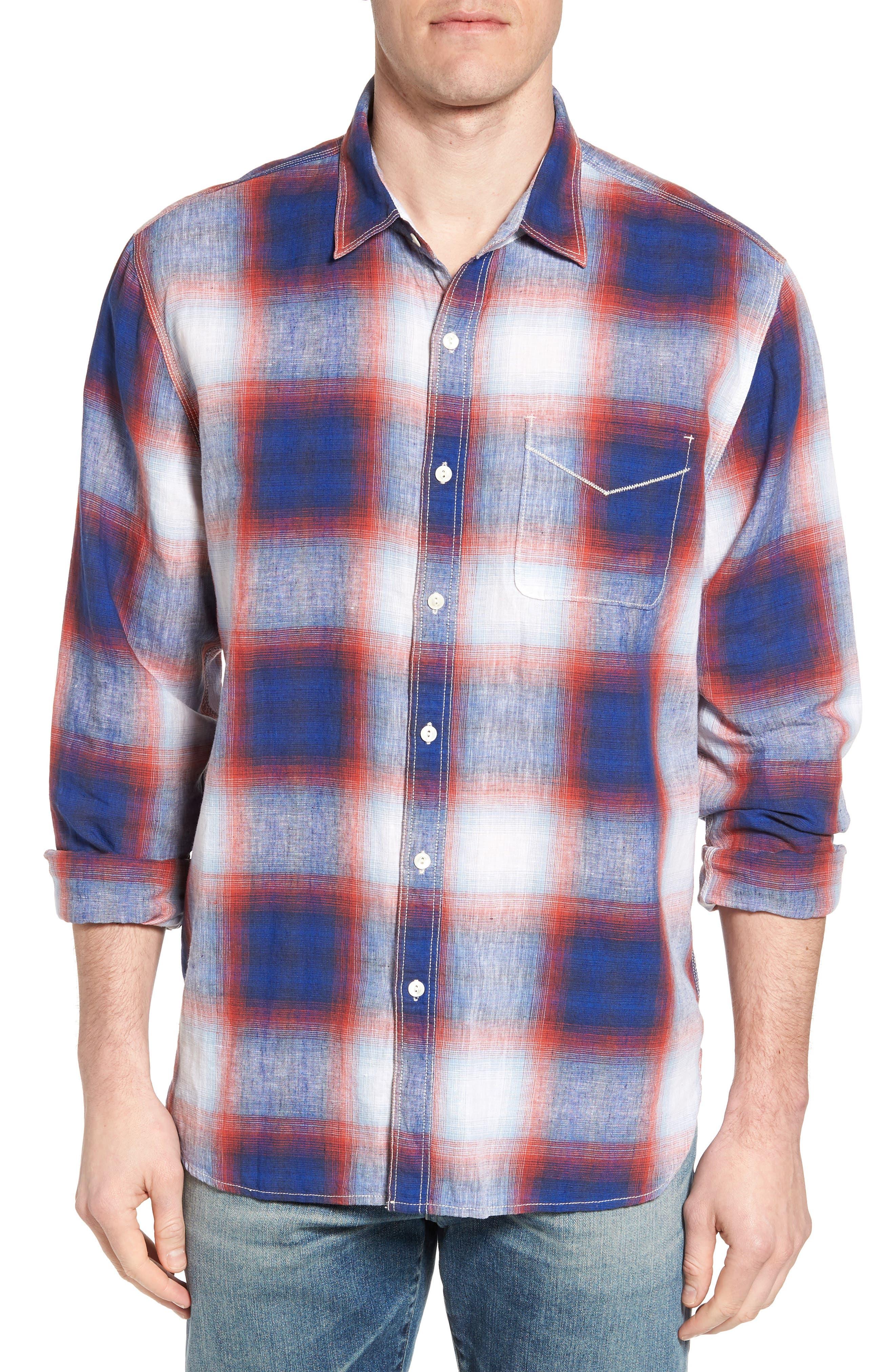 TRUE GRIT Salt Creek Classic Fit Sport Shirt, Main, color, 600