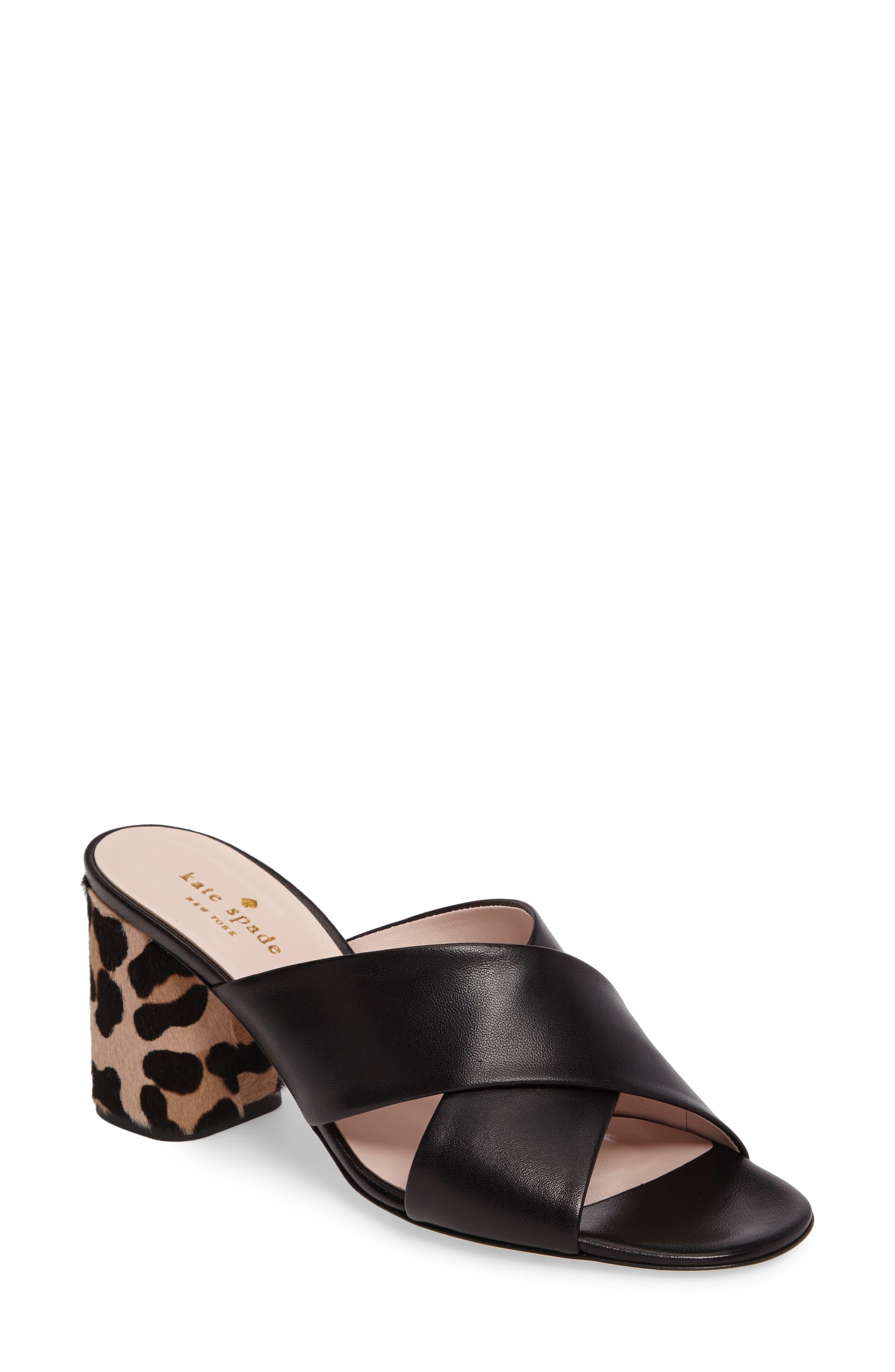 denault slide sandal,                             Main thumbnail 1, color,                             001