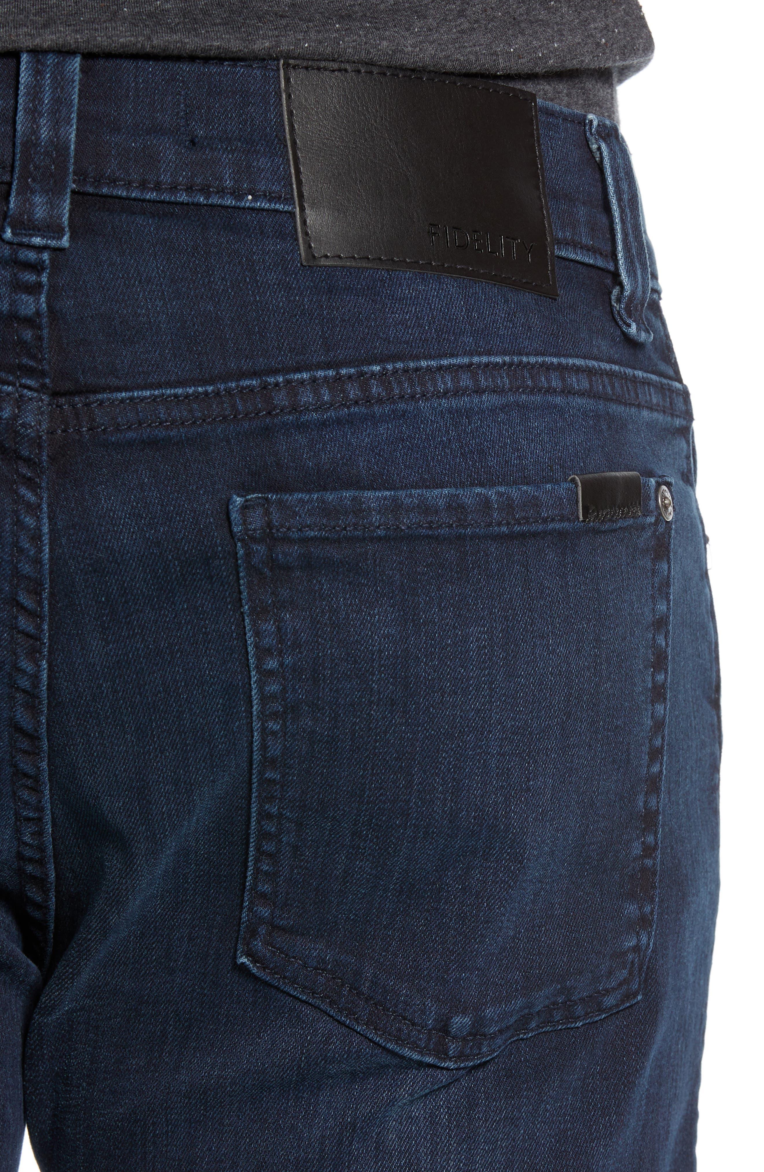 Impala Straight Leg Jeans,                             Alternate thumbnail 4, color,                             GENESIS