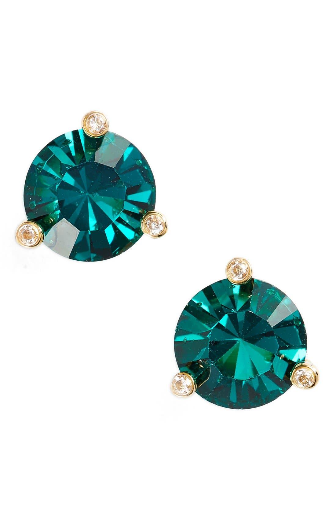 KATE SPADE NEW YORK,                             'rise and shine' stud earrings,                             Main thumbnail 1, color,                             300