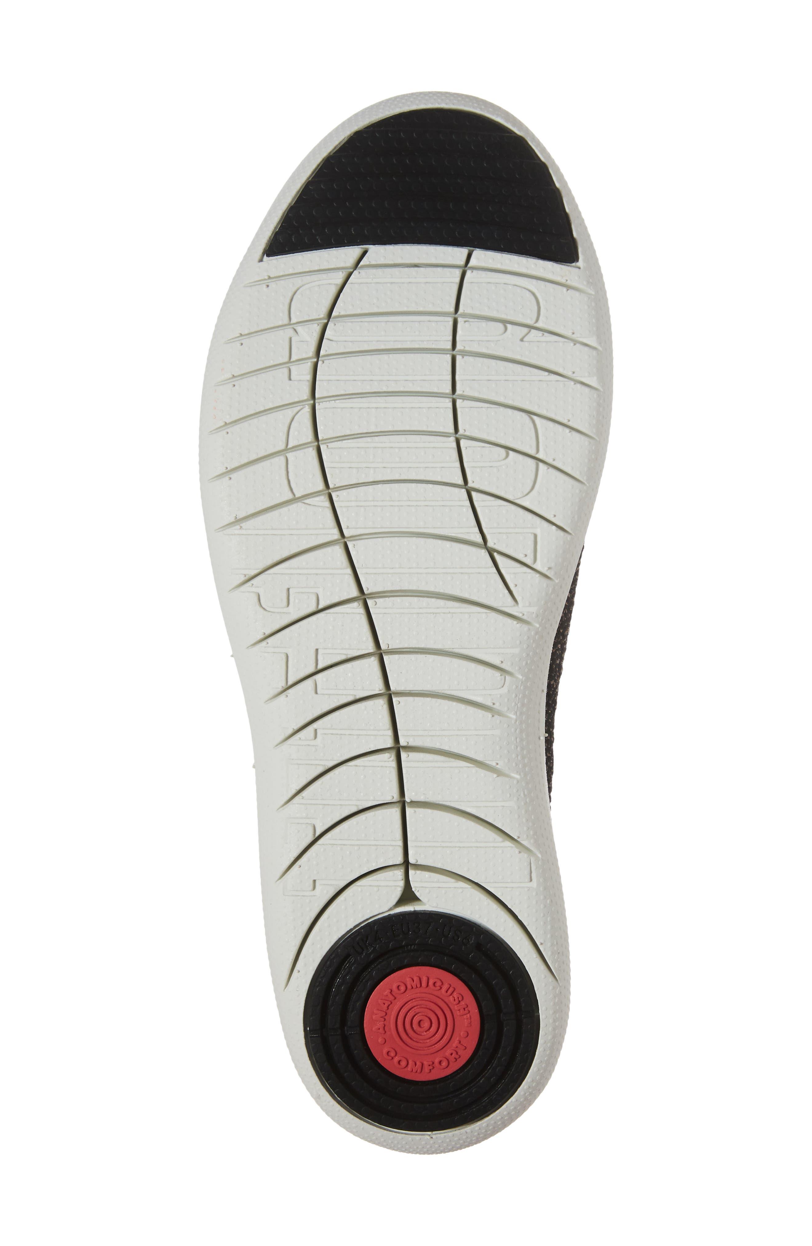 Uberknit<sup>™</sup> Slip-On Ballerina Sneaker,                             Alternate thumbnail 6, color,                             001