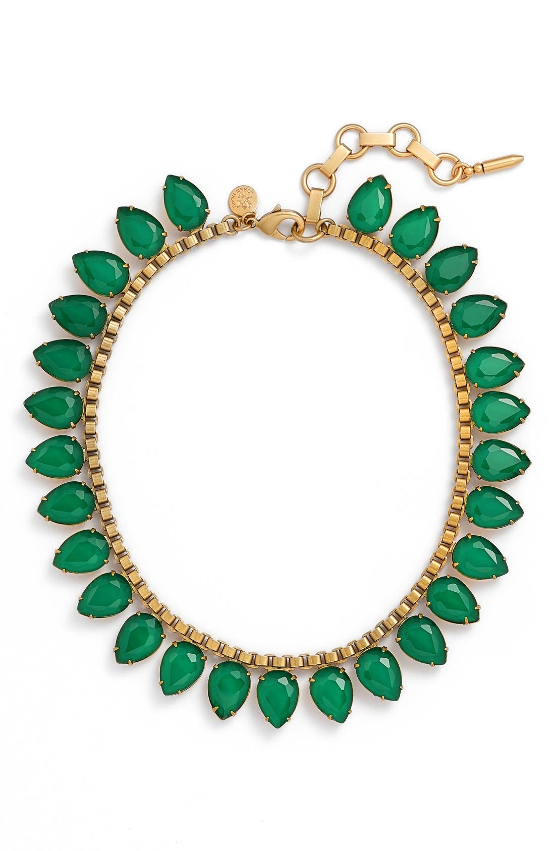 'Sylvia' Crystal Collar Necklace,                             Main thumbnail 4, color,