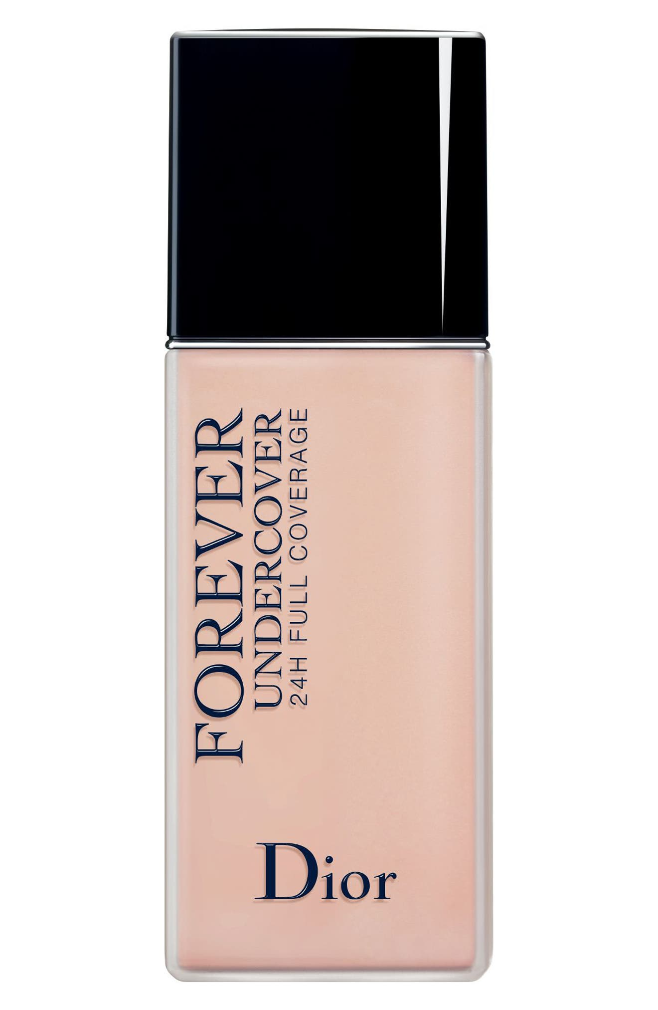 Dior Diorskin Forever Undercover 24-Hour Full Coverage Water-Based Foundation - 014 Fair Almond