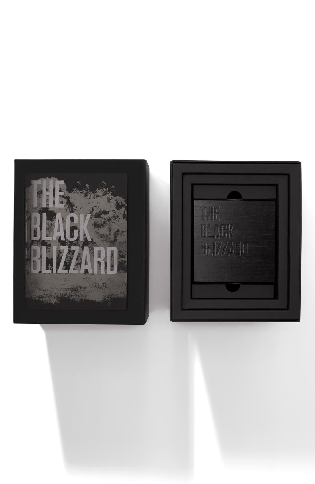 'The Black Blizzard' Chronograph Interchangeable Strap Watch, 48mm,                             Alternate thumbnail 6, color,                             SILVER/ BLACK