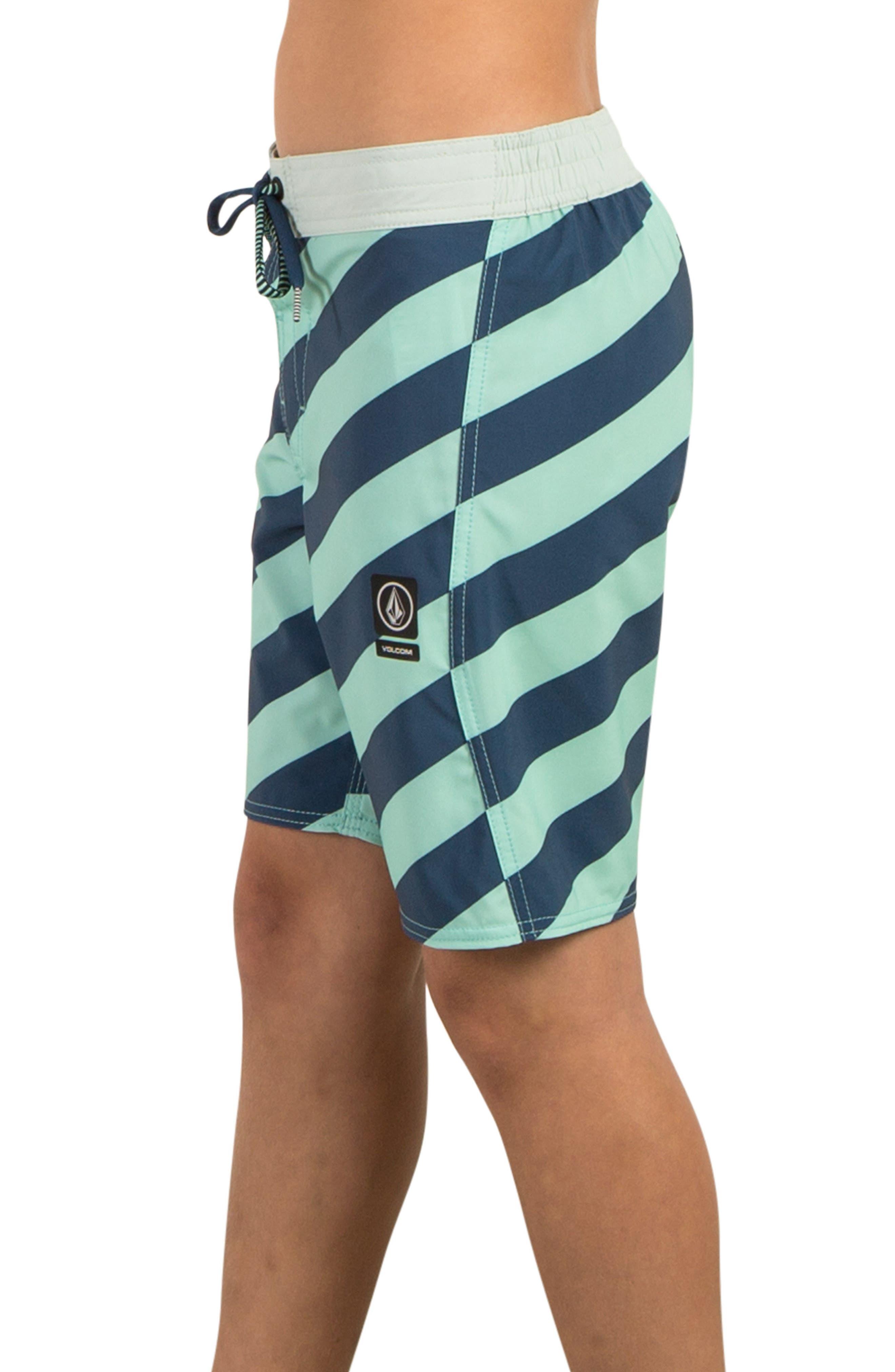 Stripey Jammer Board Shorts,                             Alternate thumbnail 10, color,