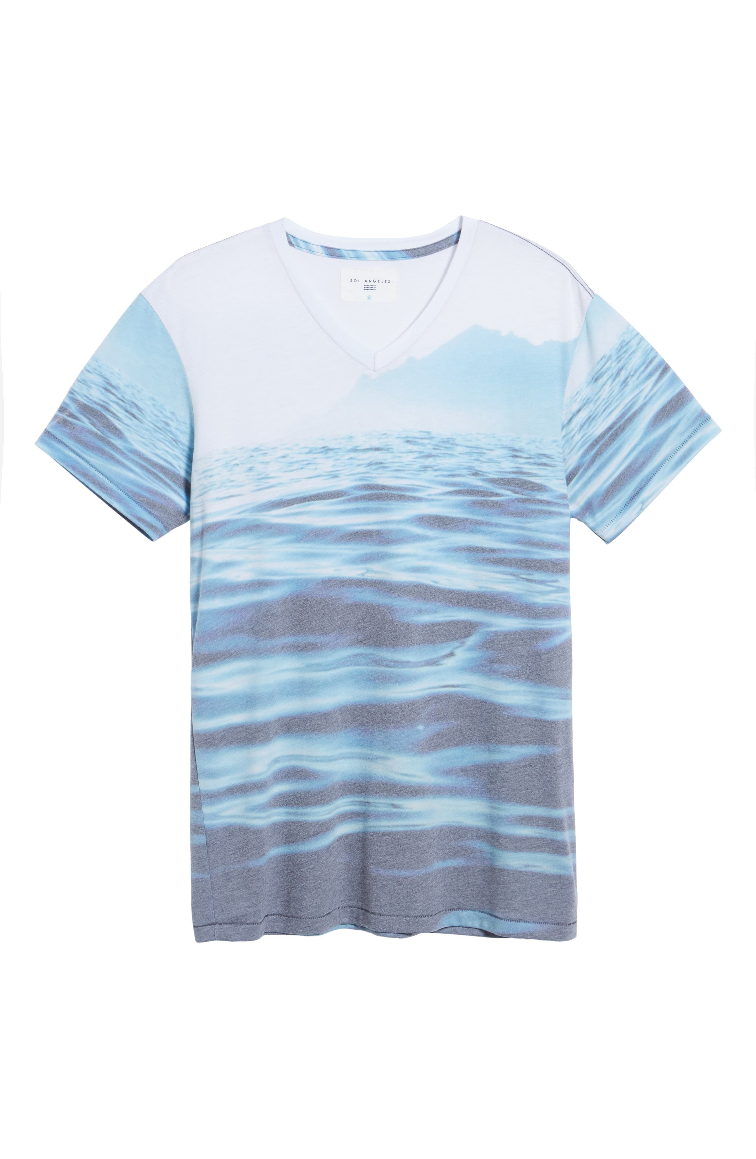 Mirage Waters T-Shirt,                             Alternate thumbnail 6, color,                             460