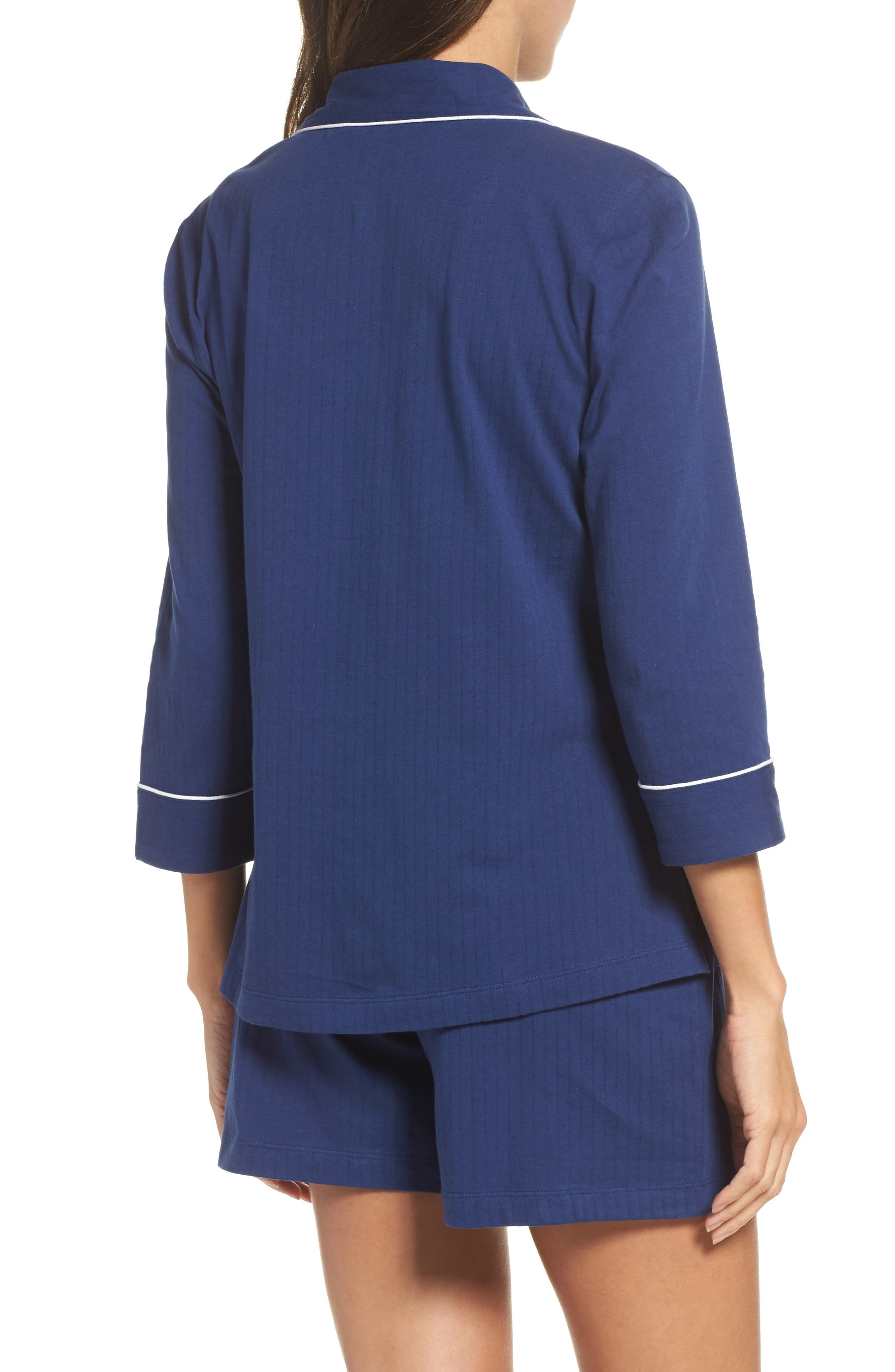 Notched Collar Pajamas,                             Alternate thumbnail 2, color,                             400