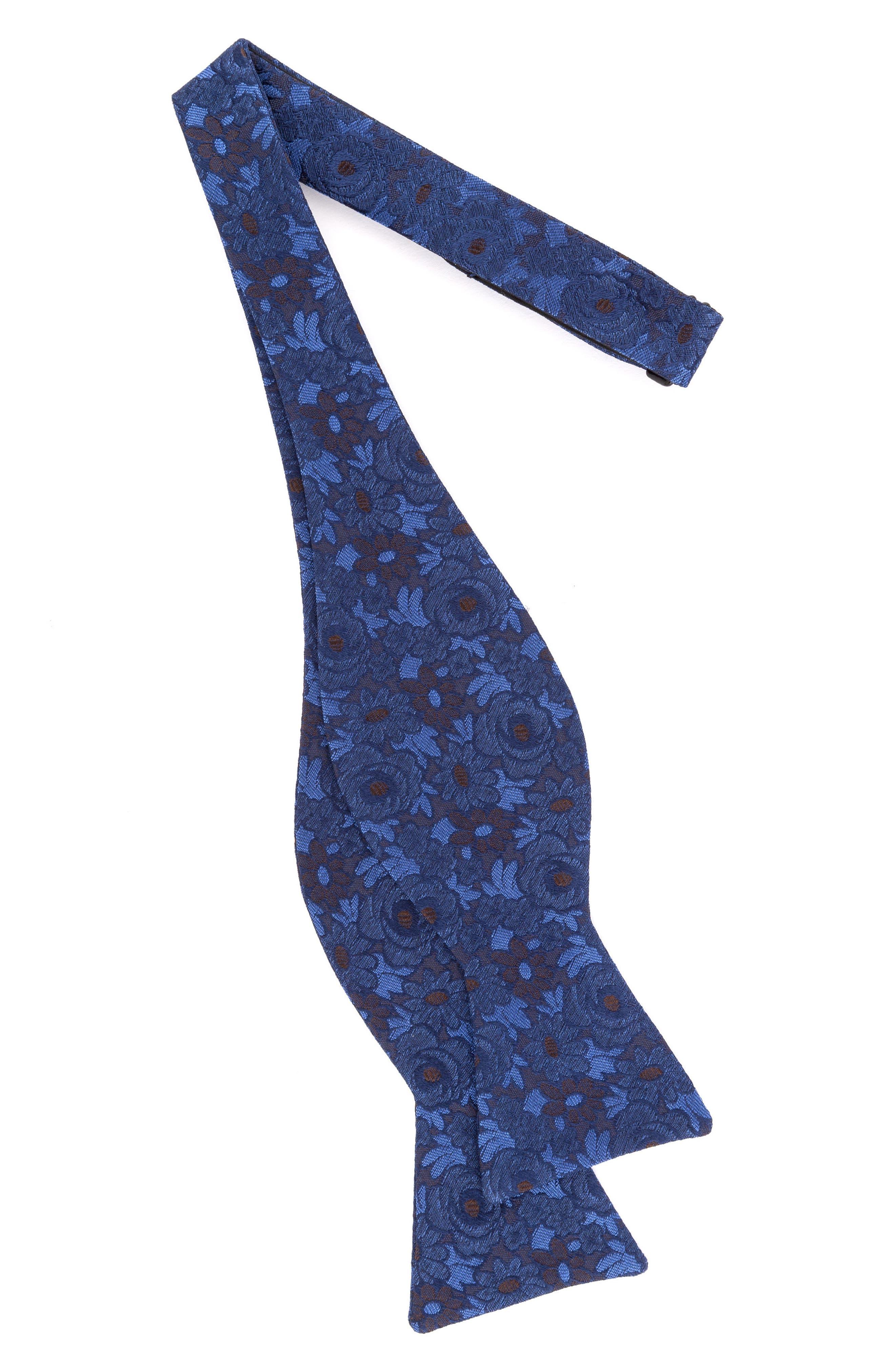 Botanical Silk Bow Tie,                             Alternate thumbnail 7, color,