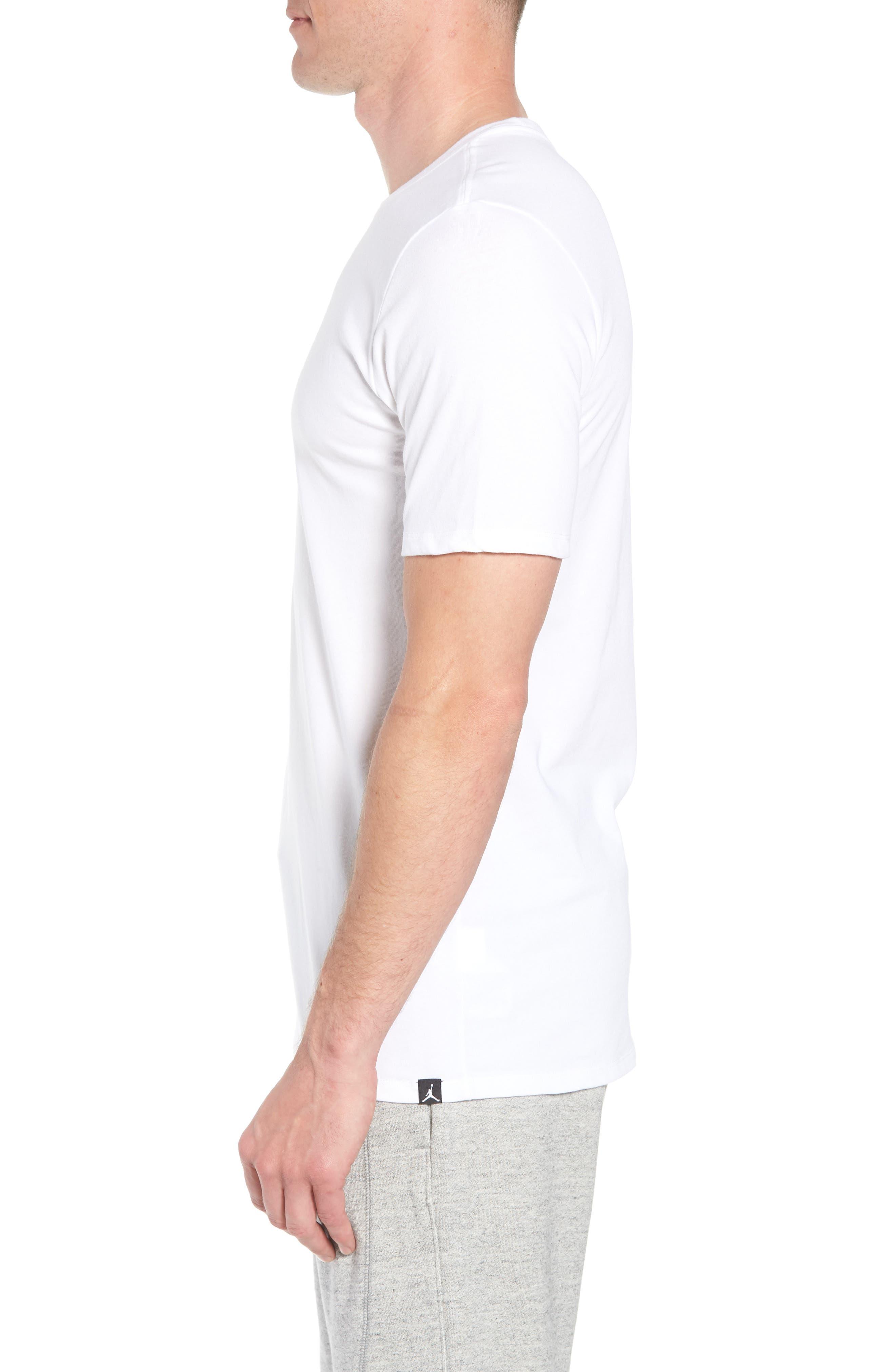 Iconic Jumpman Graphic T-Shirt,                             Alternate thumbnail 6, color,