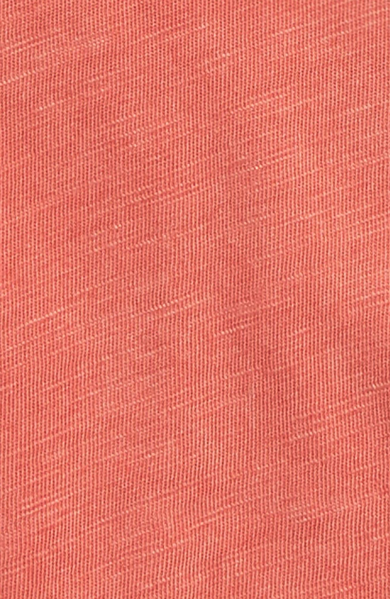 Washed Slub Jersey T-Shirt,                             Alternate thumbnail 2, color,