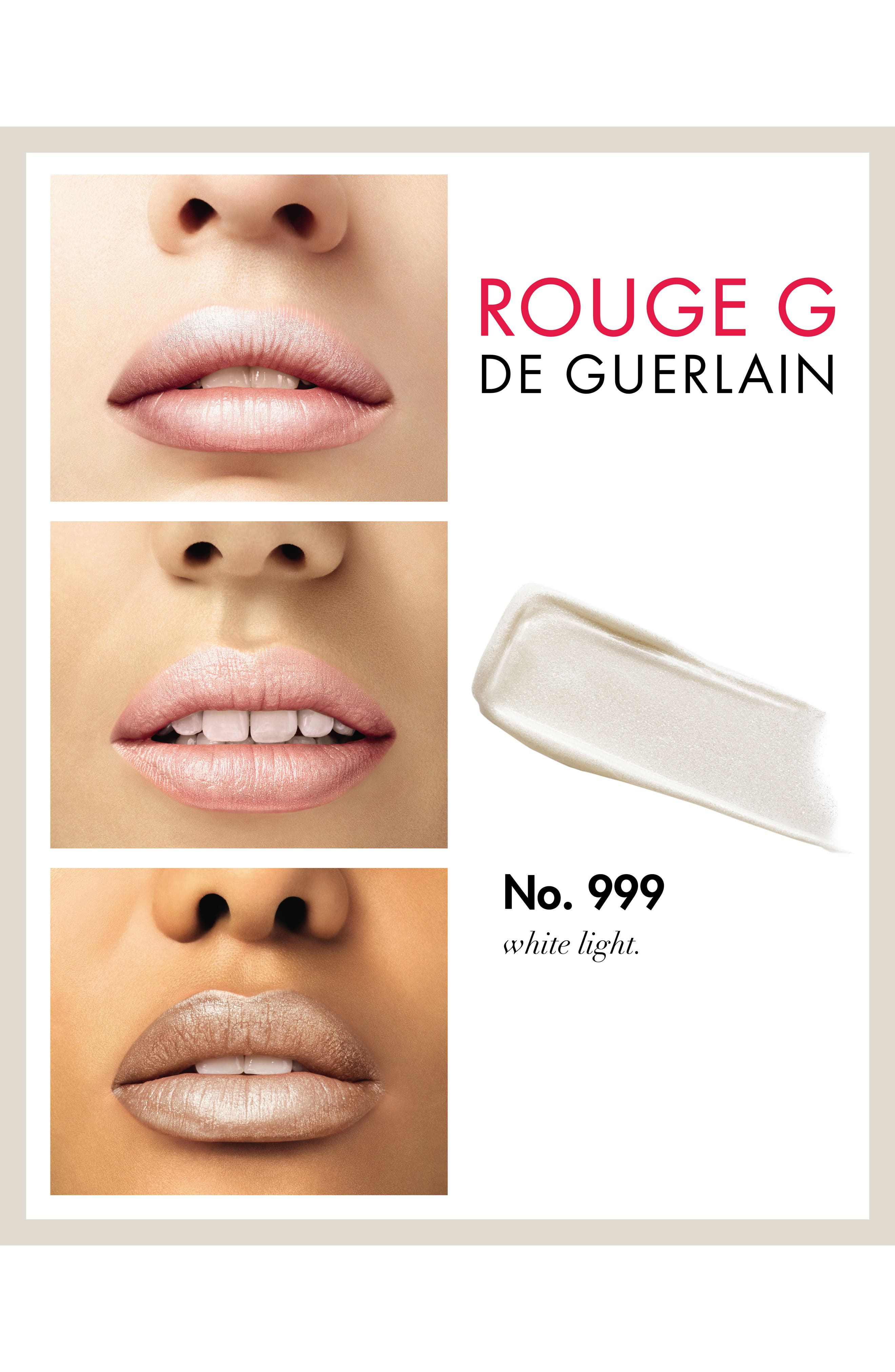 Rouge G Customizable Lipstick,                             Alternate thumbnail 3, color,                             NO. 999