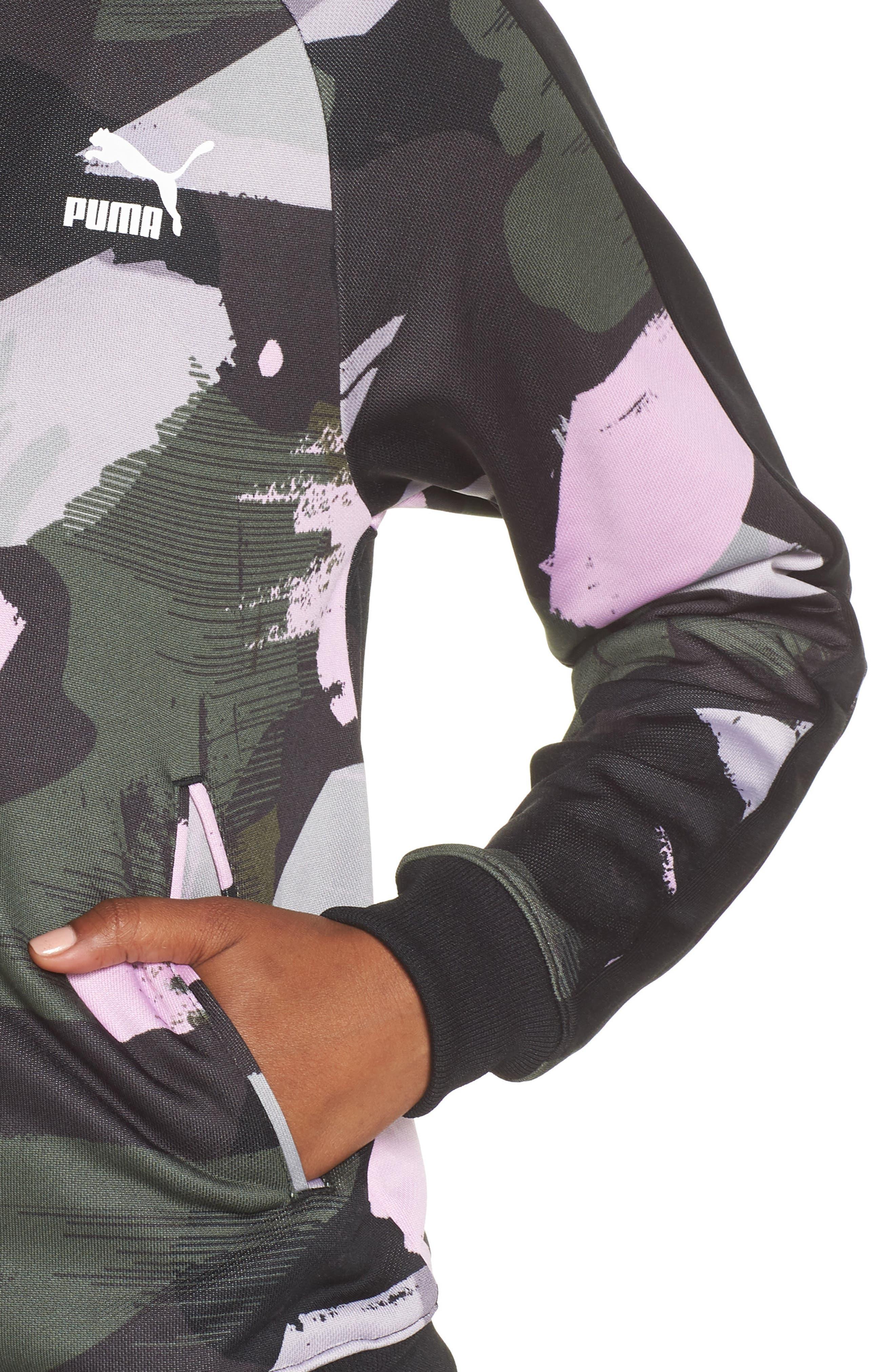 Classics T7 Track Jacket,                             Alternate thumbnail 4, color,                             IRON GATE