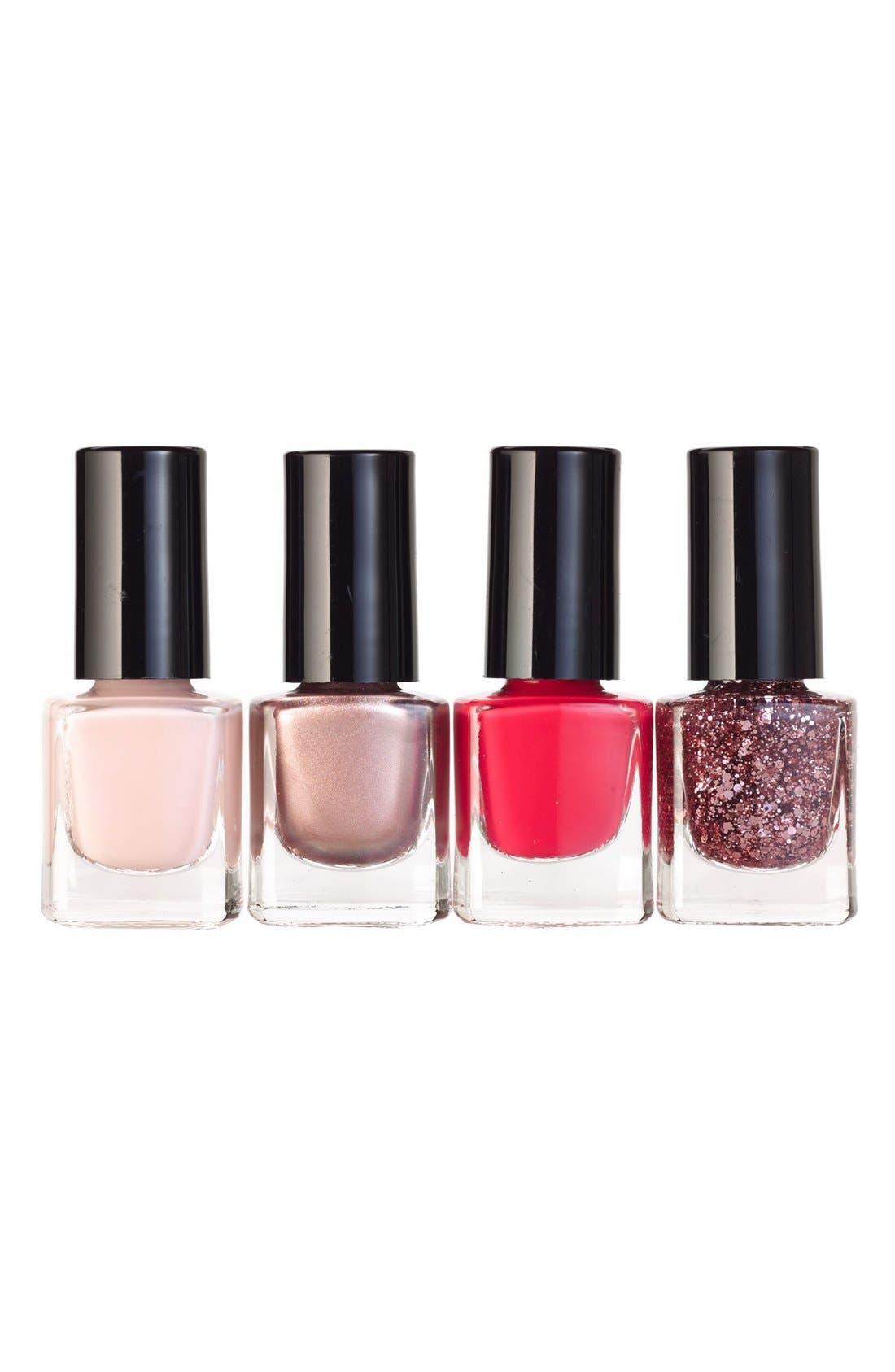 mini nail polish set,                             Main thumbnail 1, color,                             974