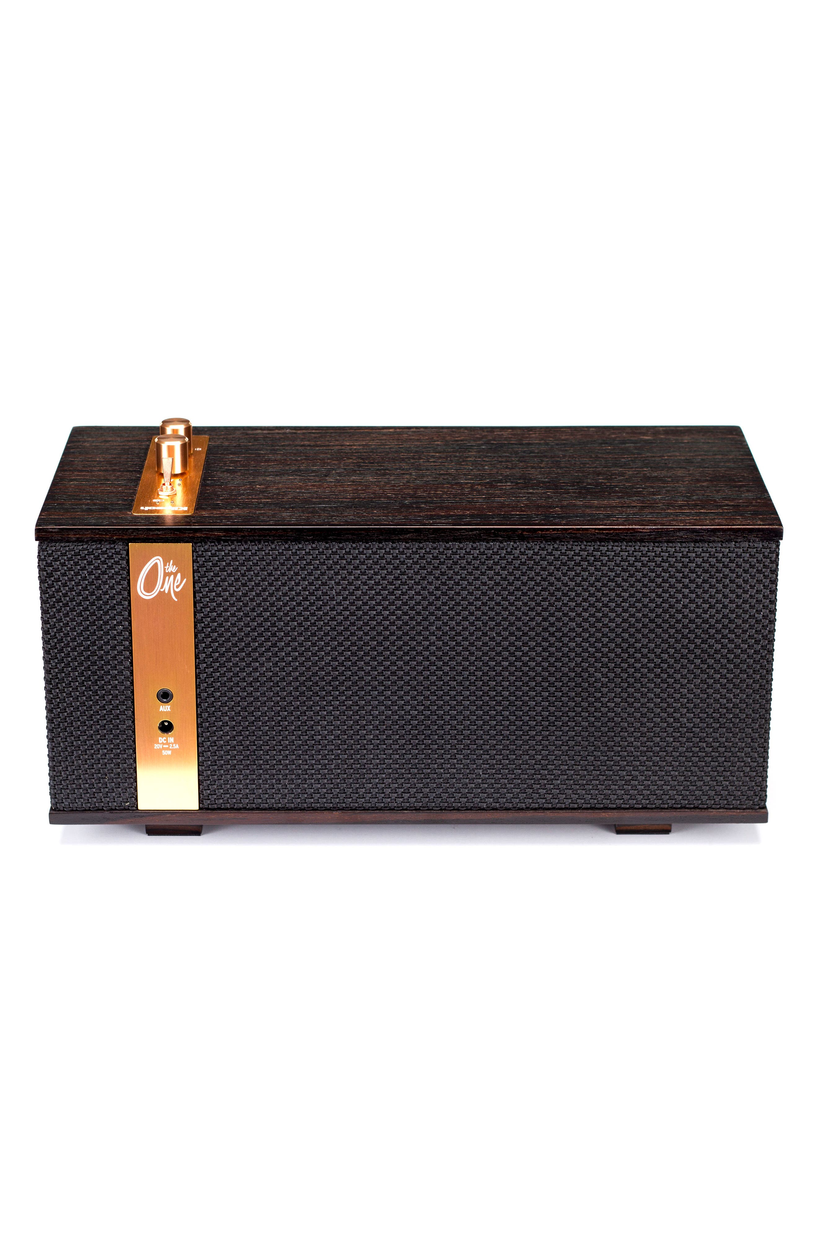 Klipsch The One Bluetooth<sup>®</sup> Speaker,                             Alternate thumbnail 2, color,                             EBONY