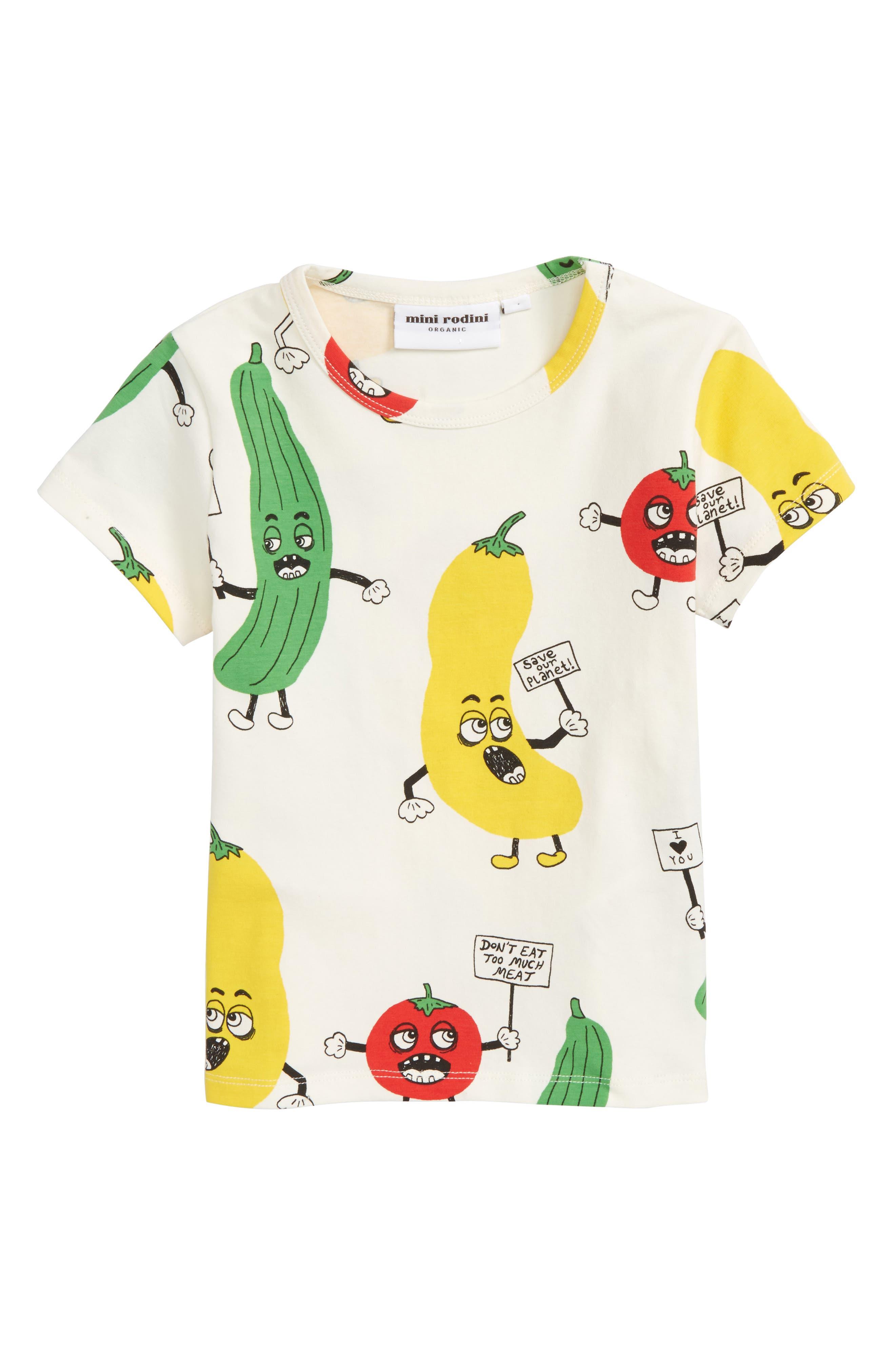 Veggie T-Shirt,                         Main,                         color, 100