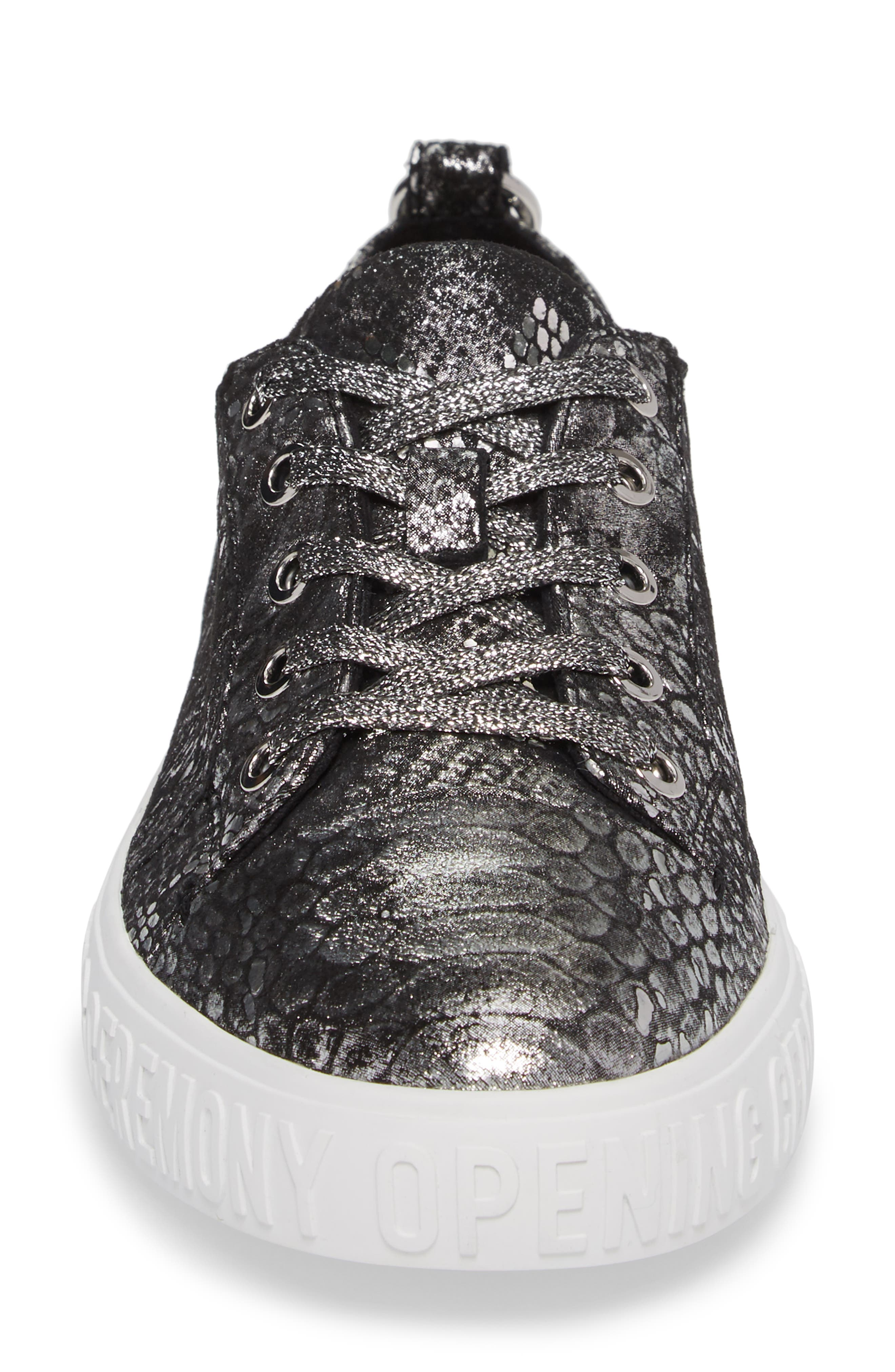 La Cienega Logo Sneaker,                             Alternate thumbnail 4, color,                             040