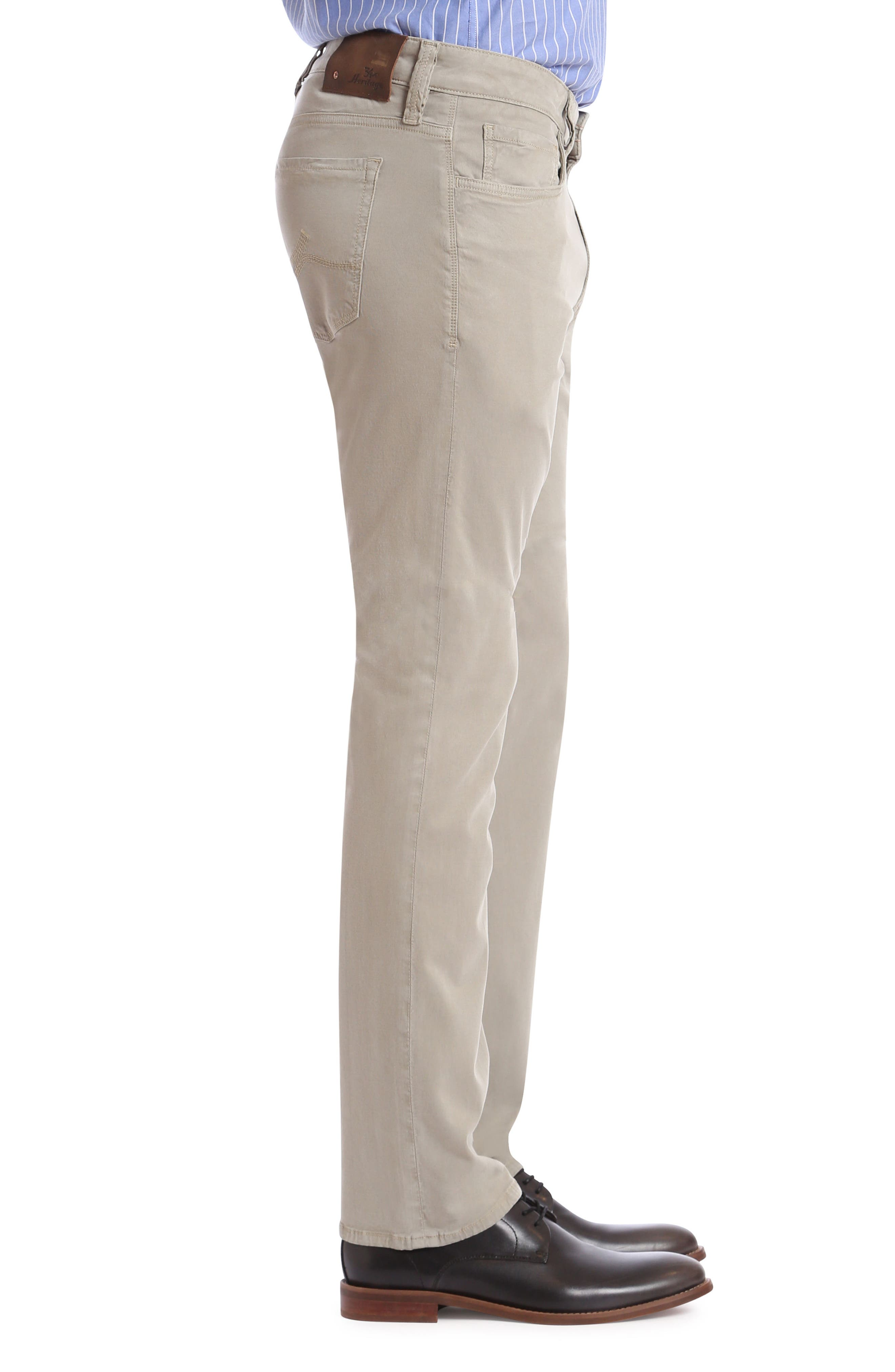 Charisma Relaxed Fit Jeans,                             Alternate thumbnail 3, color,                             FINE TWILL