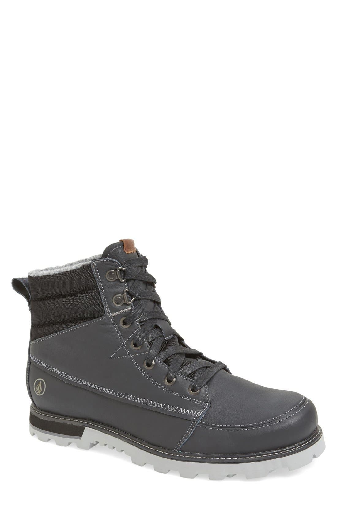 'Sub Zero' Suede Boot,                             Main thumbnail 1, color,                             025