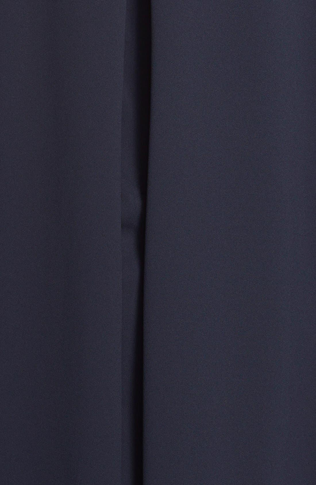 ADRIANNA PAPELL,                             Cape Sheath Dress,                             Alternate thumbnail 3, color,                             412