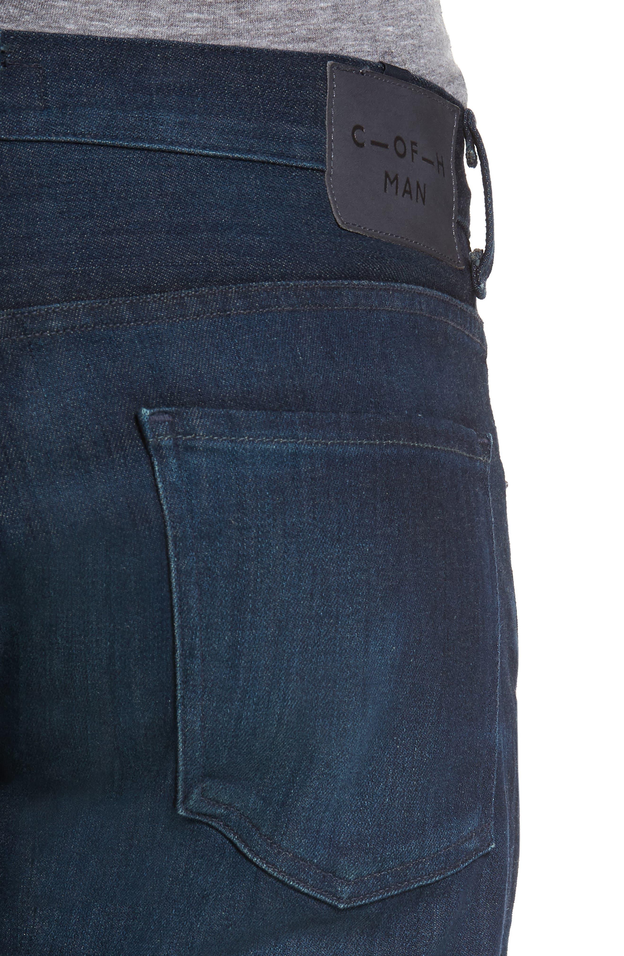 'Sid Classic' Straight Leg Jeans,                             Alternate thumbnail 5, color,                             473