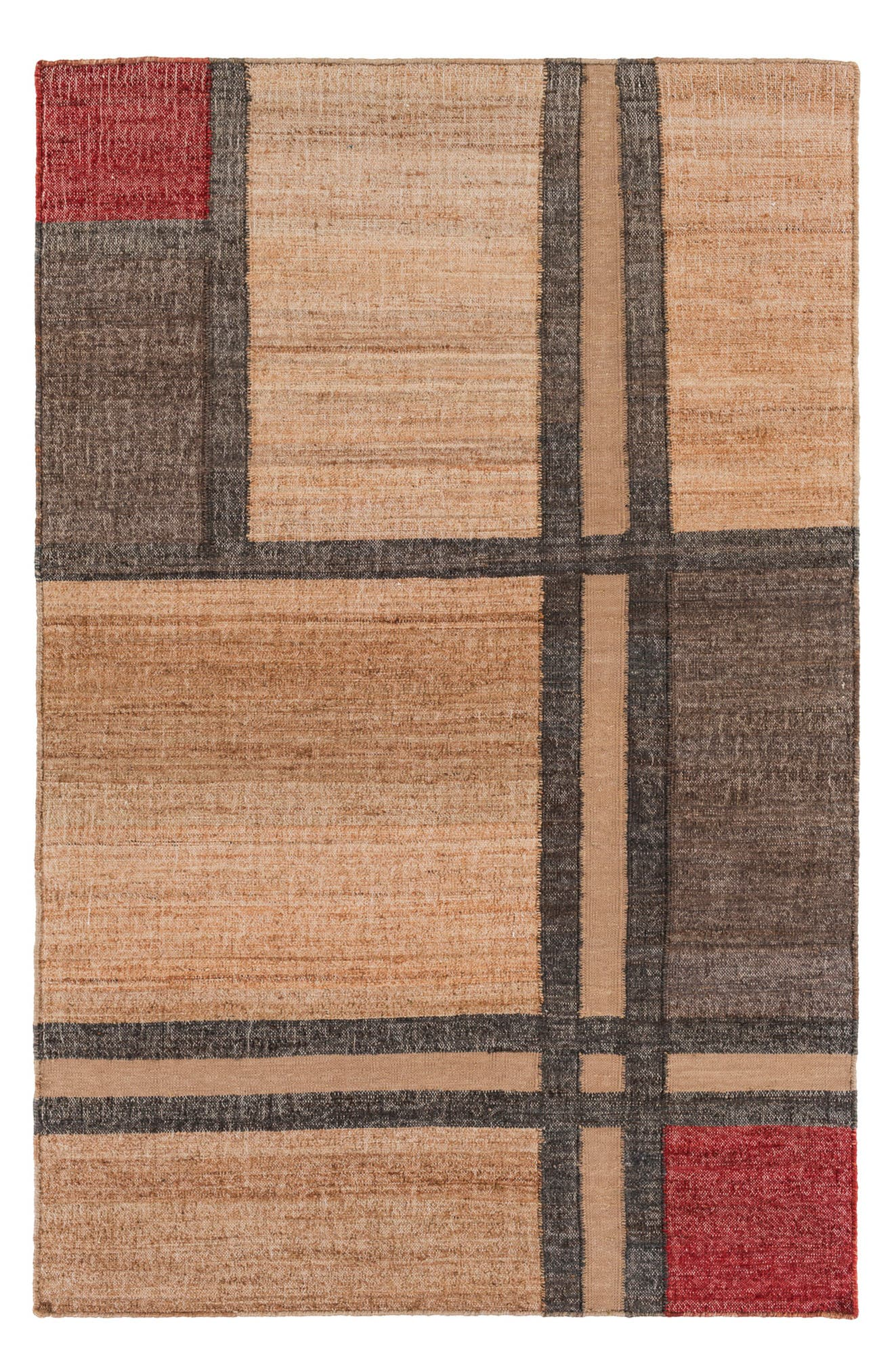 Seaport Squares Rug,                         Main,                         color, 250