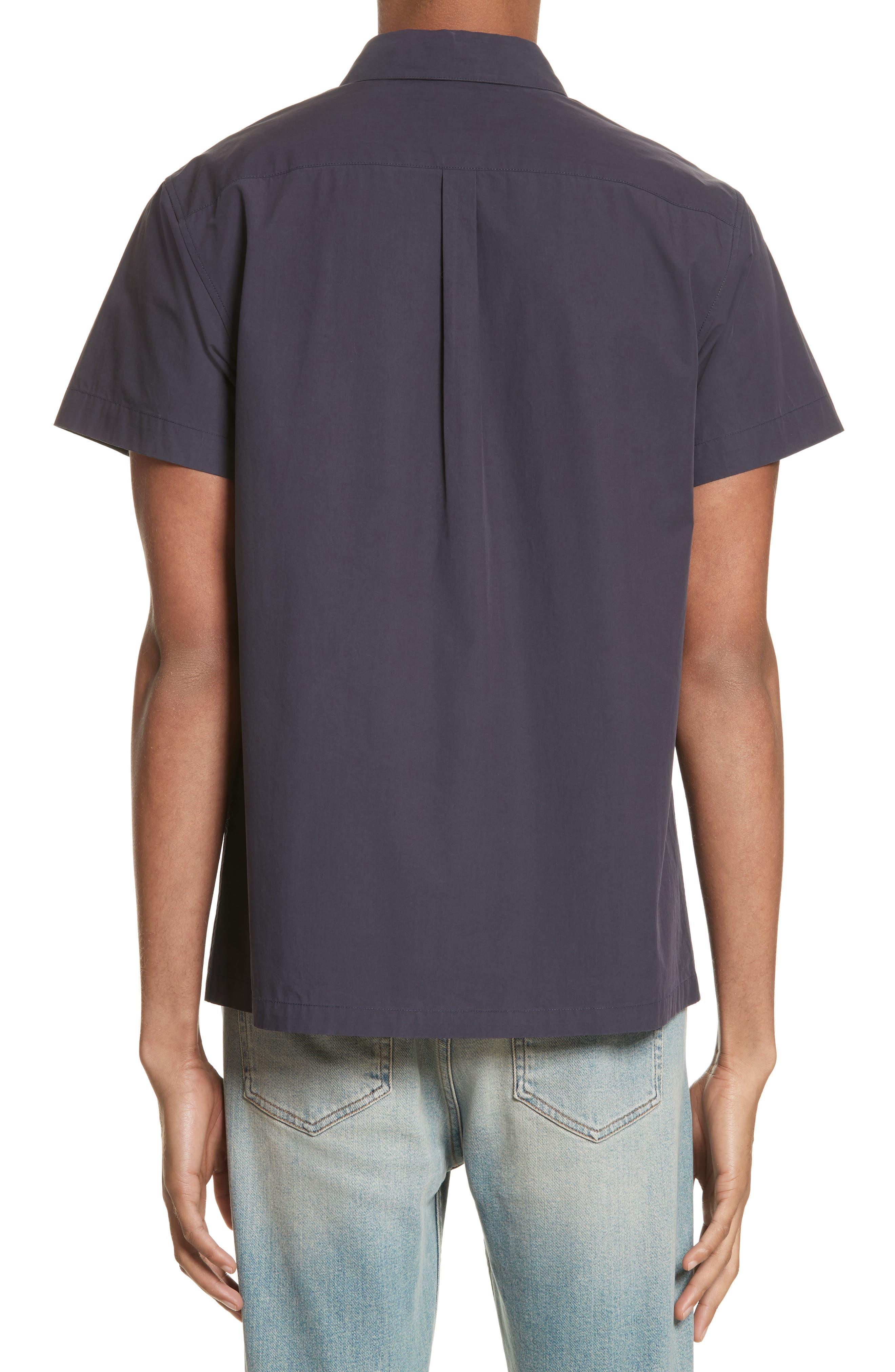Cippi Poplin Woven Shirt,                             Alternate thumbnail 2, color,                             410