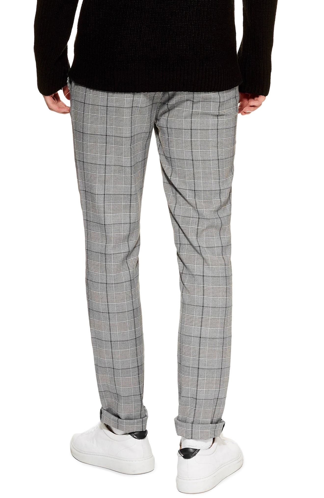 Stretch Skinny Fit Chinos,                             Alternate thumbnail 2, color,                             GREY MULTI