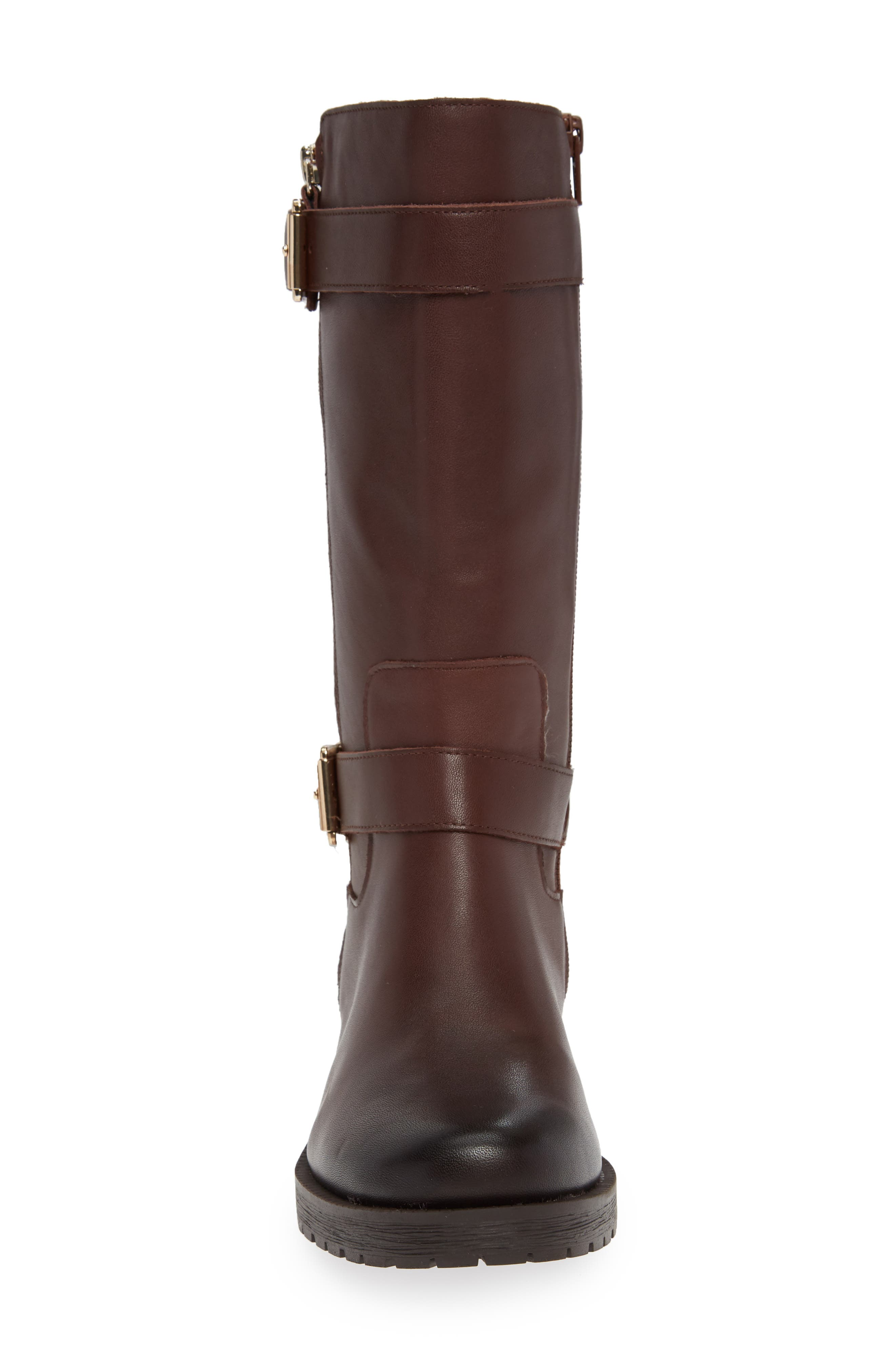 Marlow Boot,                             Alternate thumbnail 4, color,                             CHOCOLATE LEATHER