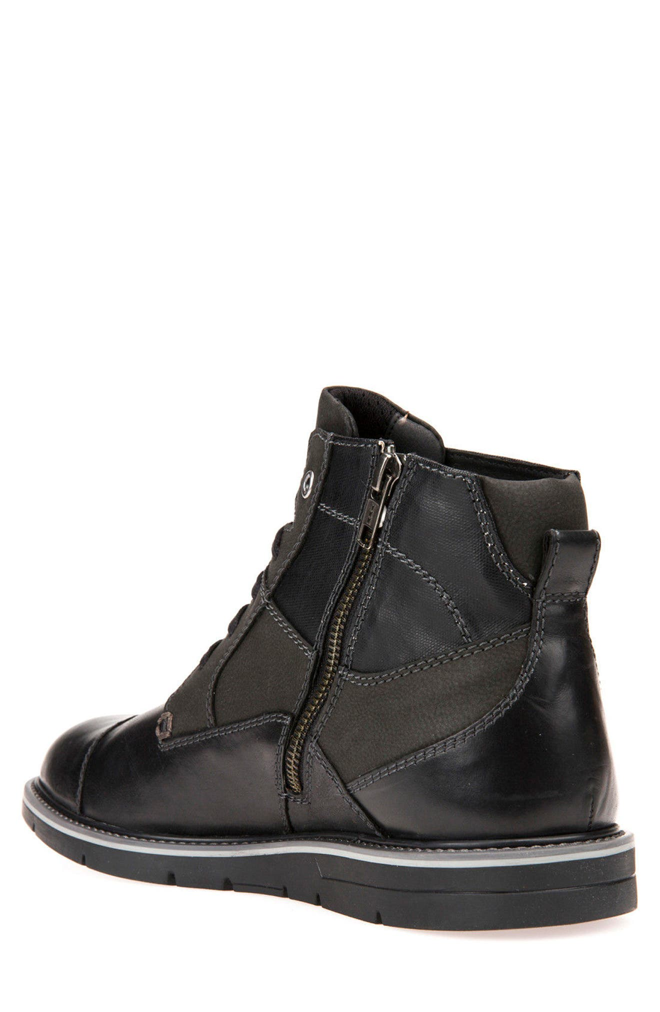 Muvet 5 Cap Toe Boot,                             Alternate thumbnail 2, color,                             001
