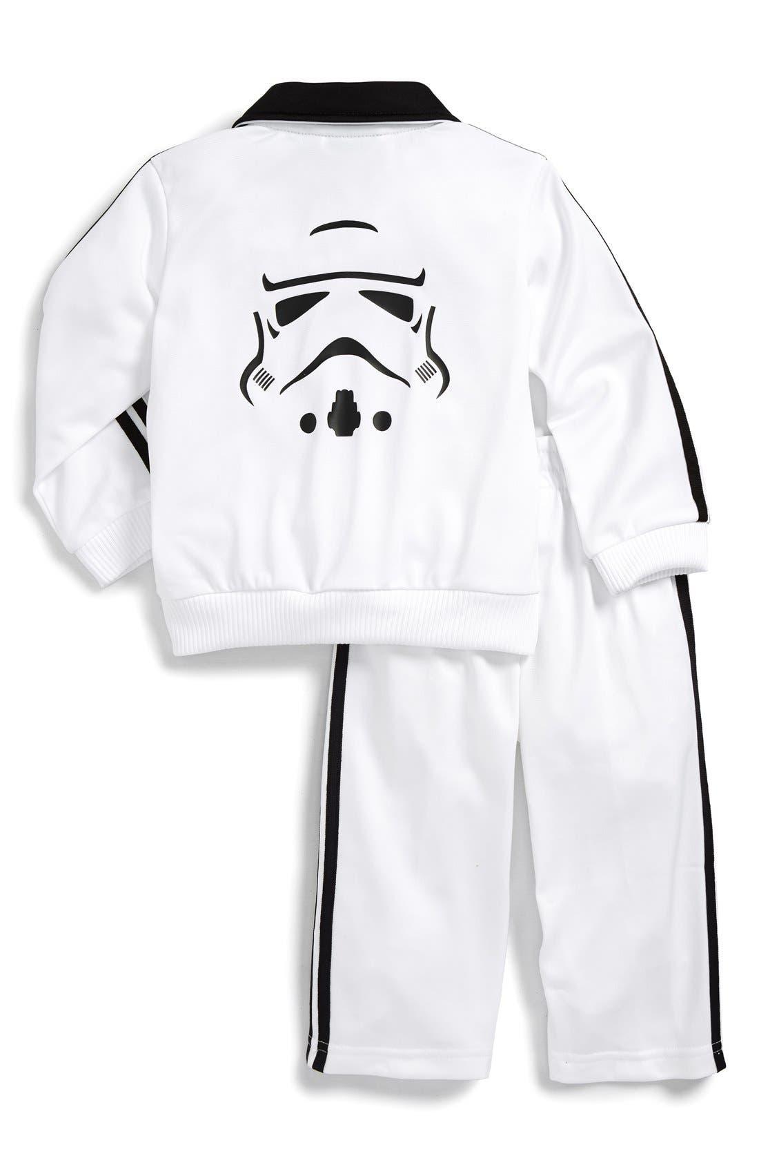ADIDAS,                             'Star Wars - Stormtrooper' Tracksuit,                             Alternate thumbnail 2, color,                             100