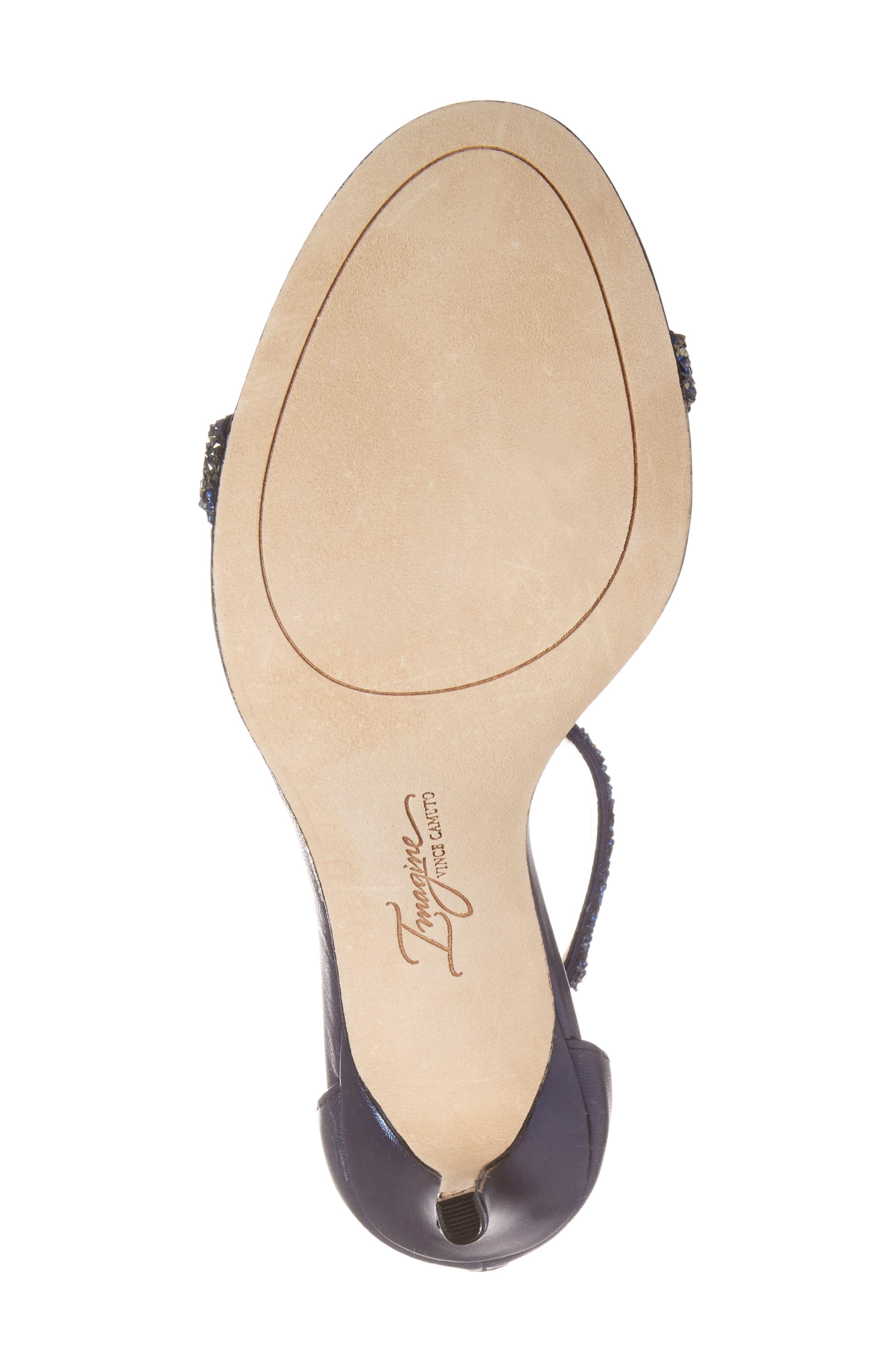 'Phoebe' Embellished T-Strap Sandal,                             Alternate thumbnail 46, color,