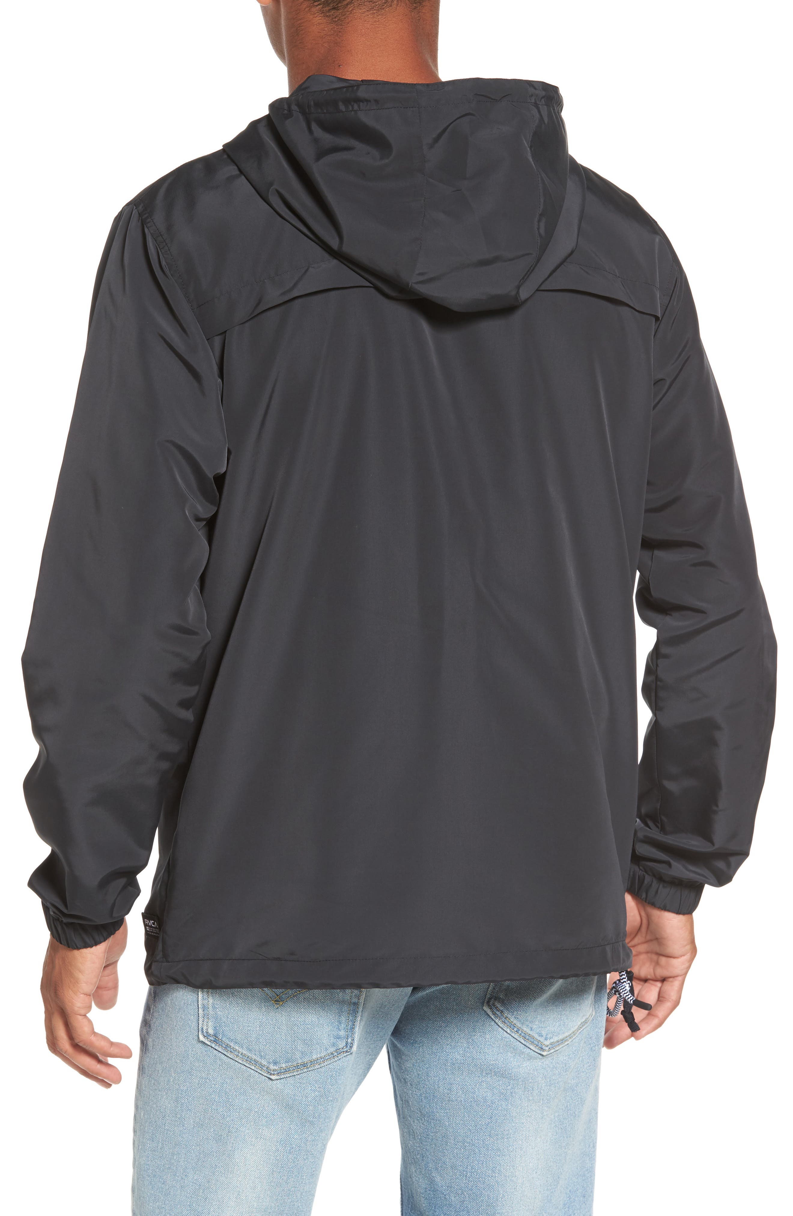 Packaway Hooded Anorak,                             Alternate thumbnail 4, color,