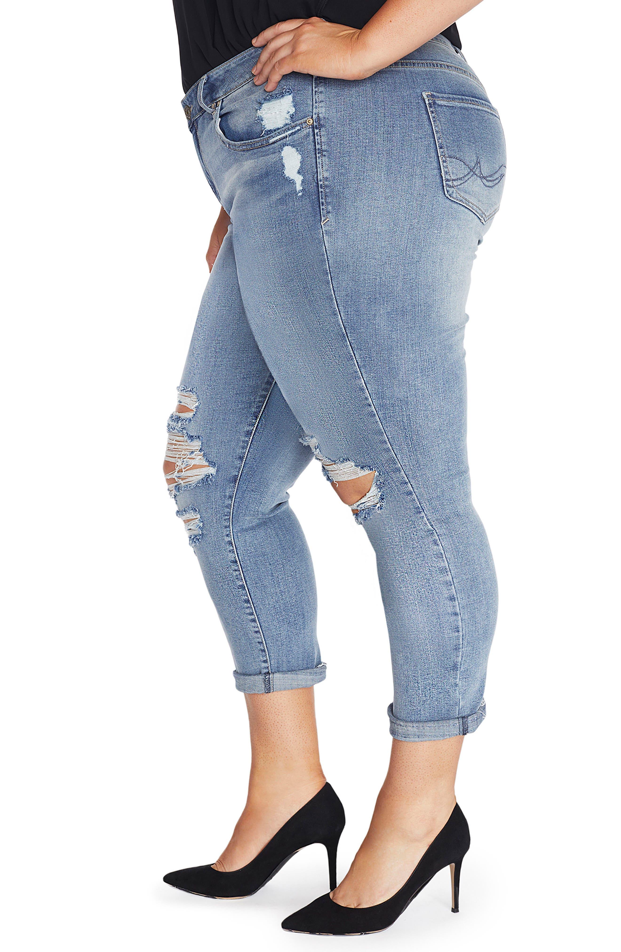 The Ryot Slim Boyfriend Jeans,                             Alternate thumbnail 3, color,                             468