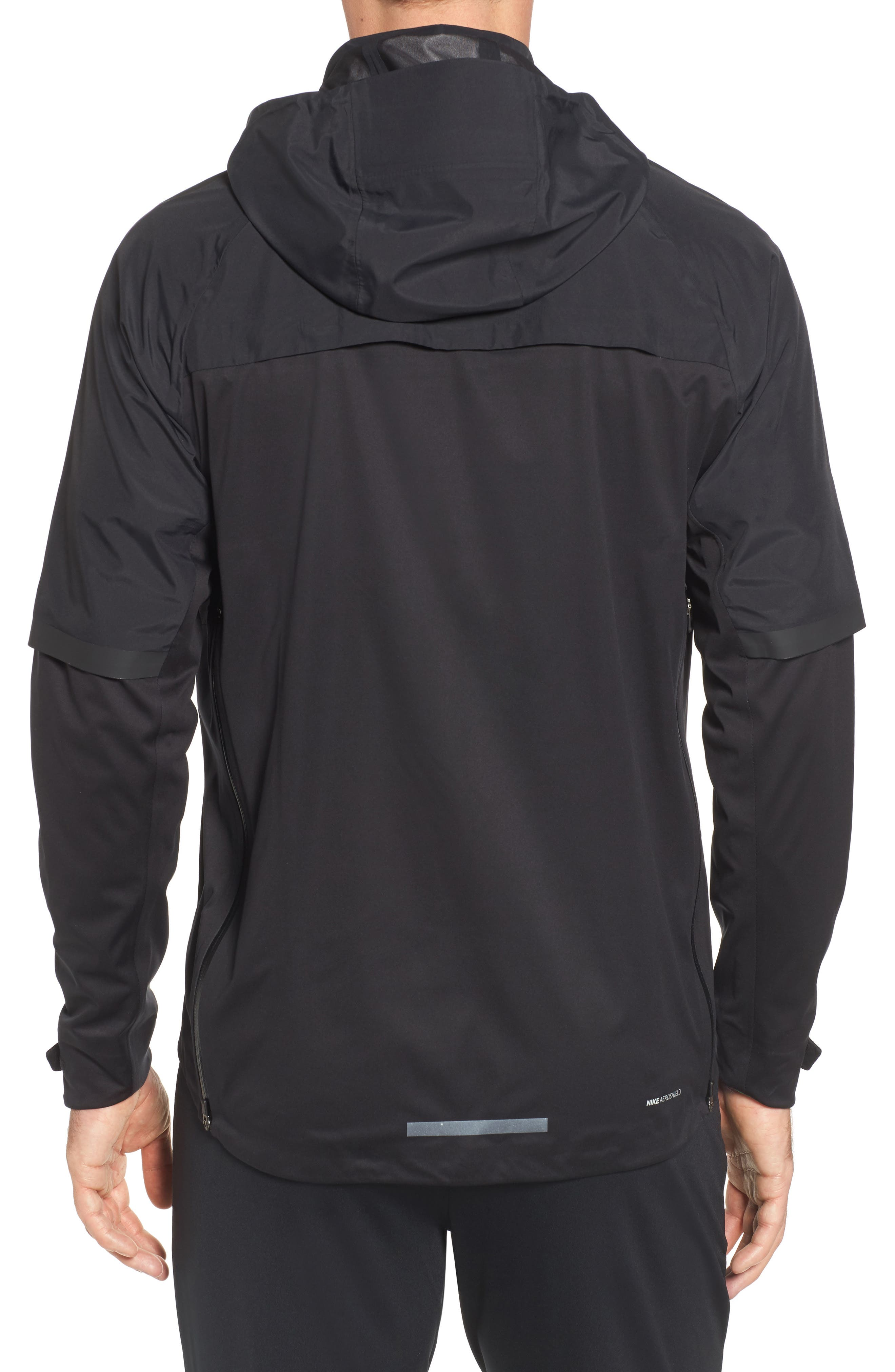 AeroShield Running Jacket,                             Alternate thumbnail 2, color,                             010