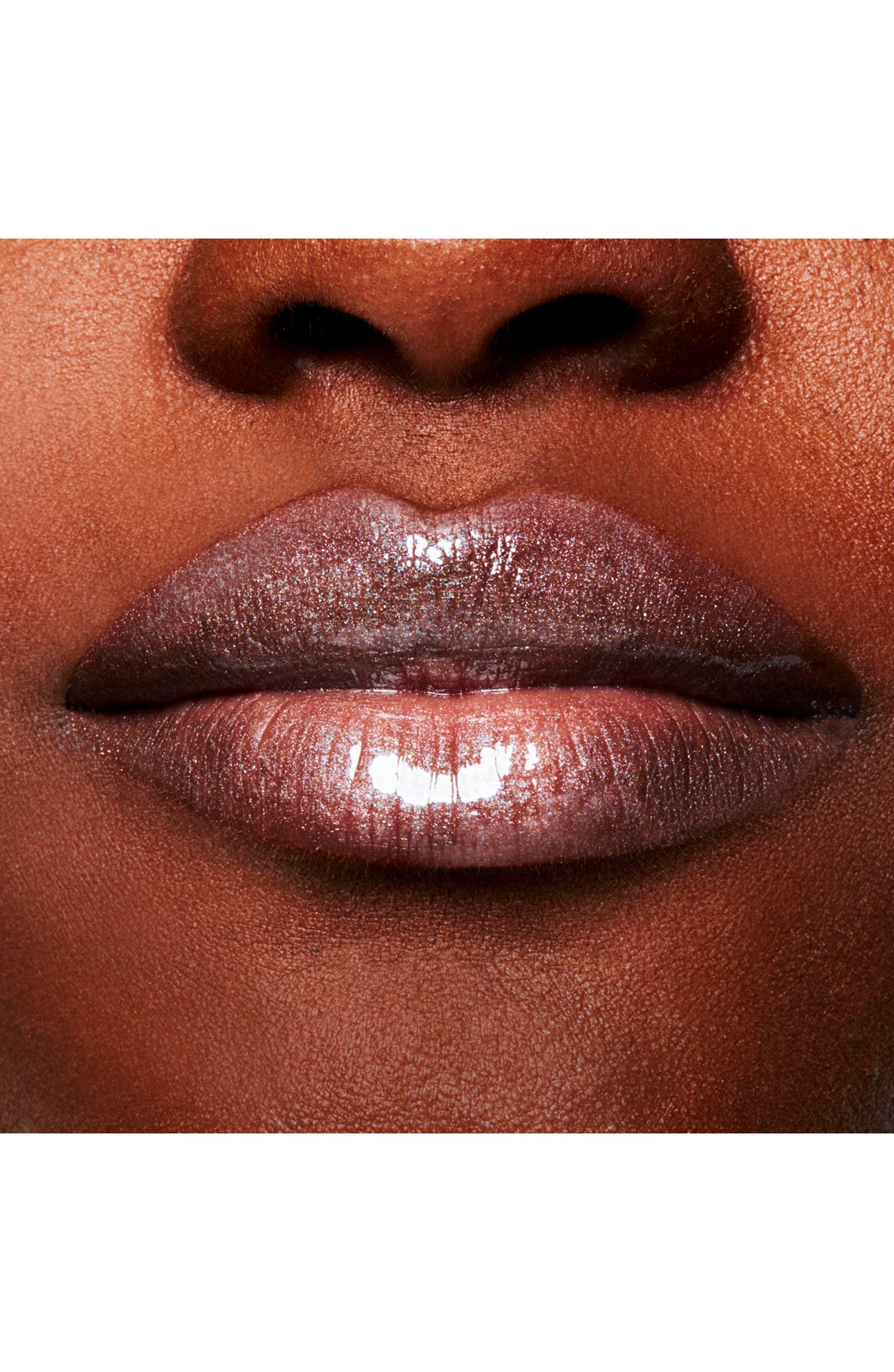 MAC Lipglass,                             Alternate thumbnail 4, color,                             STEEL KISS