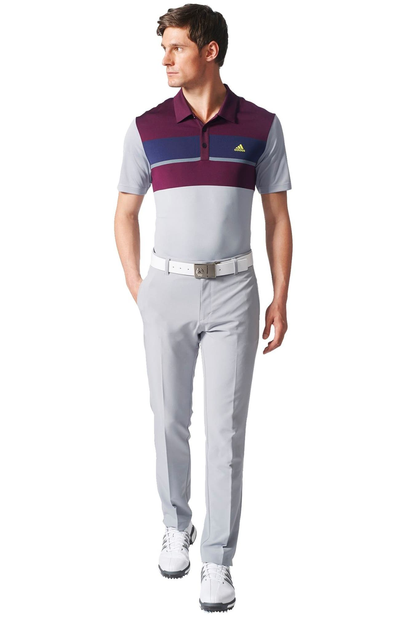 Climacool<sup>®</sup> Colorblocked Polo,                             Alternate thumbnail 7, color,