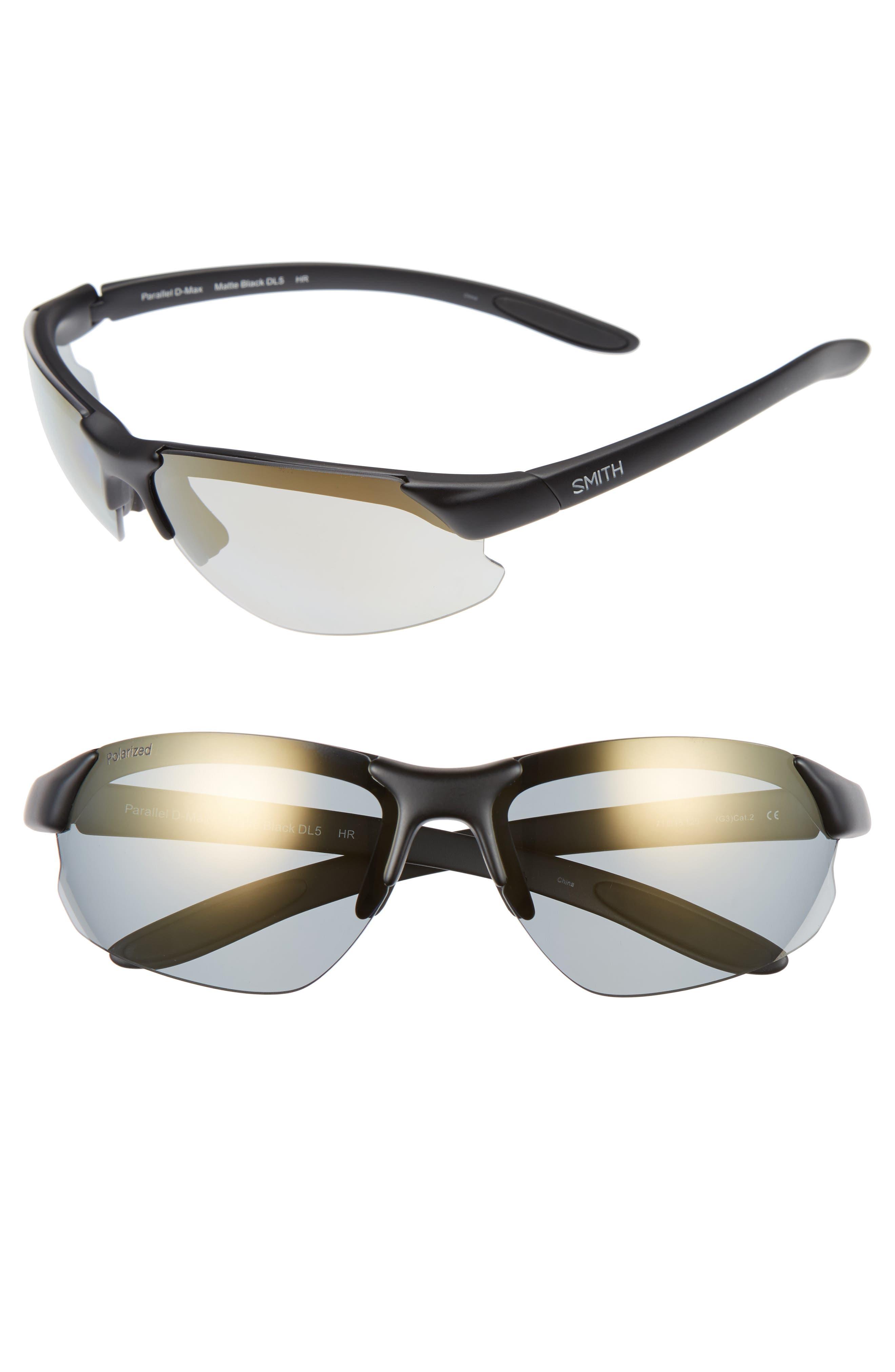 Parallel Max 69mm Polarized Sunglasses,                         Main,                         color, 001