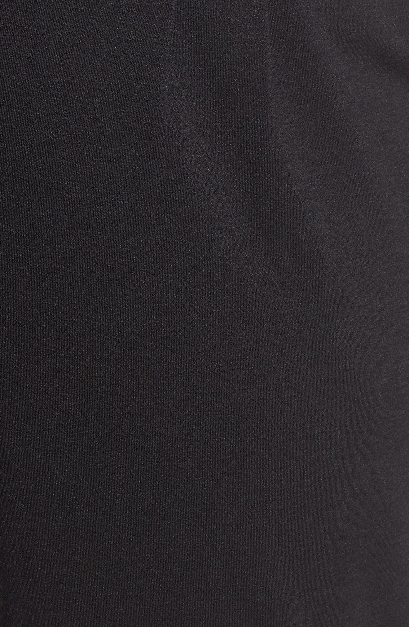 LEMON TART,                             Jesse High Rise Crop Pants,                             Alternate thumbnail 5, color,                             BLACK