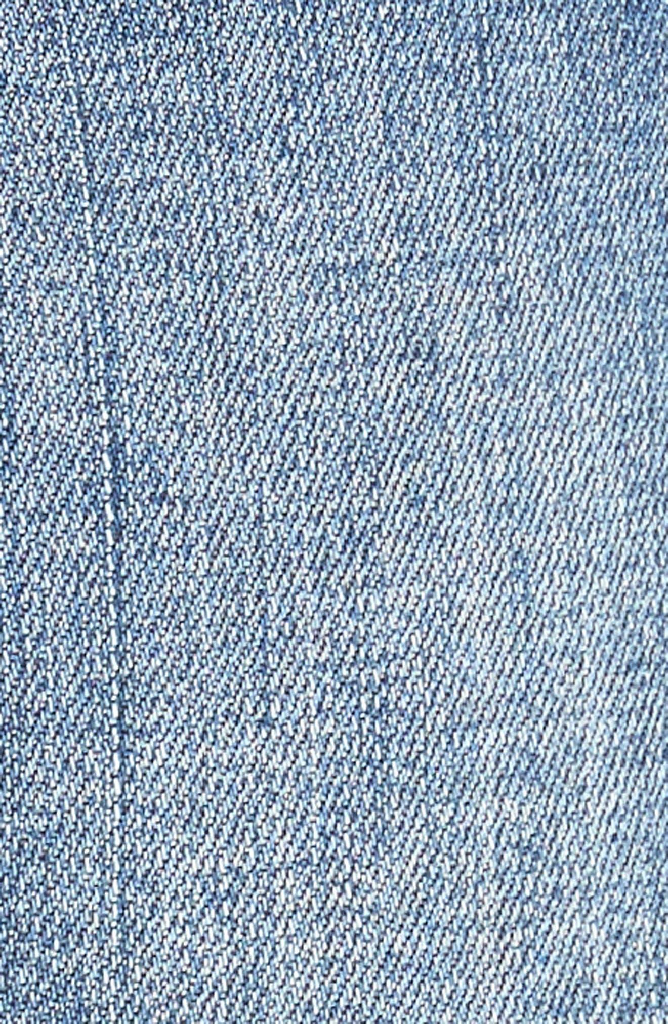 Gidget Denim Shorts,                             Alternate thumbnail 6, color,                             CONSOLIDATED