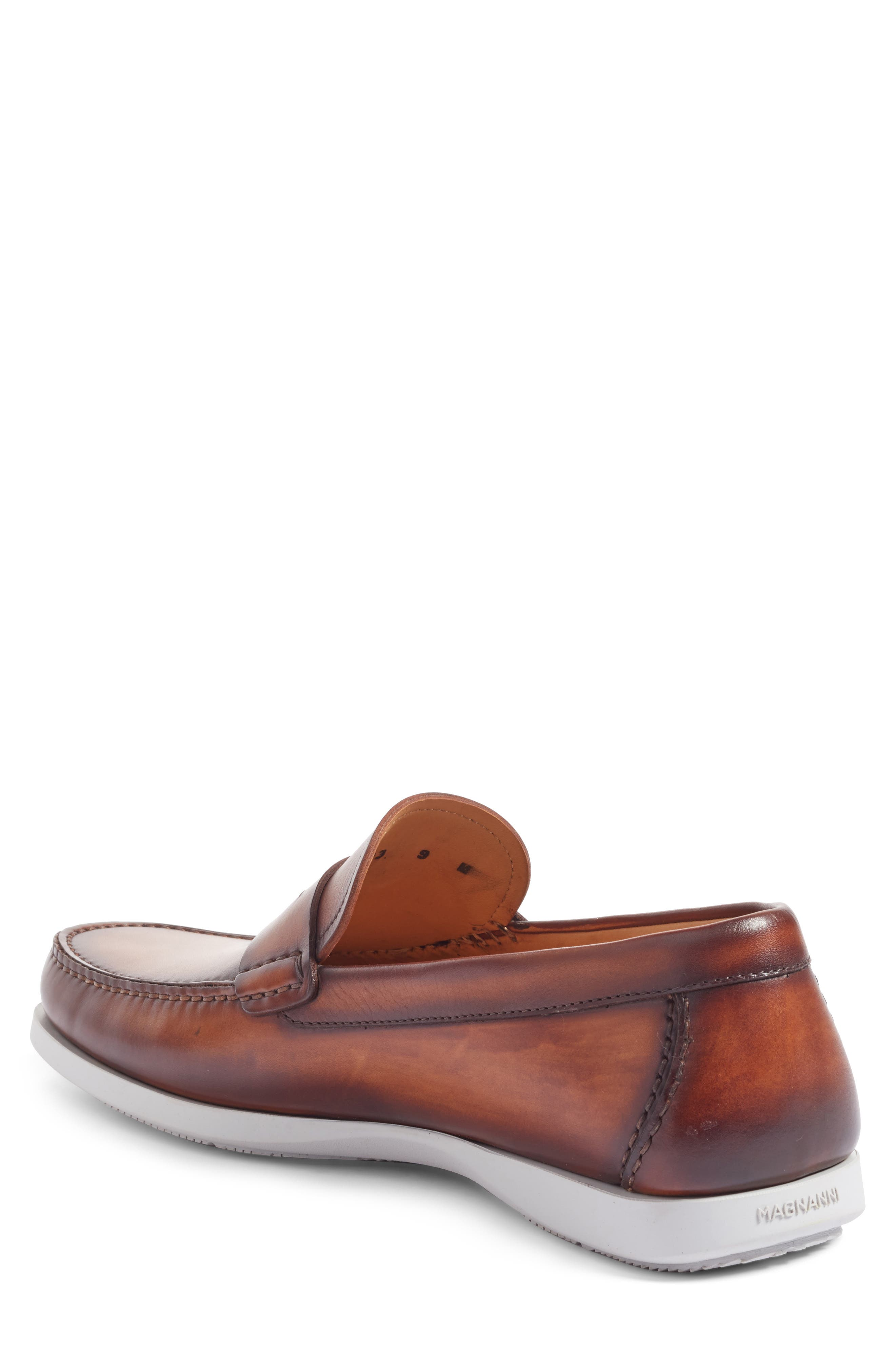 Laguna Penny Loafer,                             Alternate thumbnail 2, color,                             MID-BROWN LEATHER