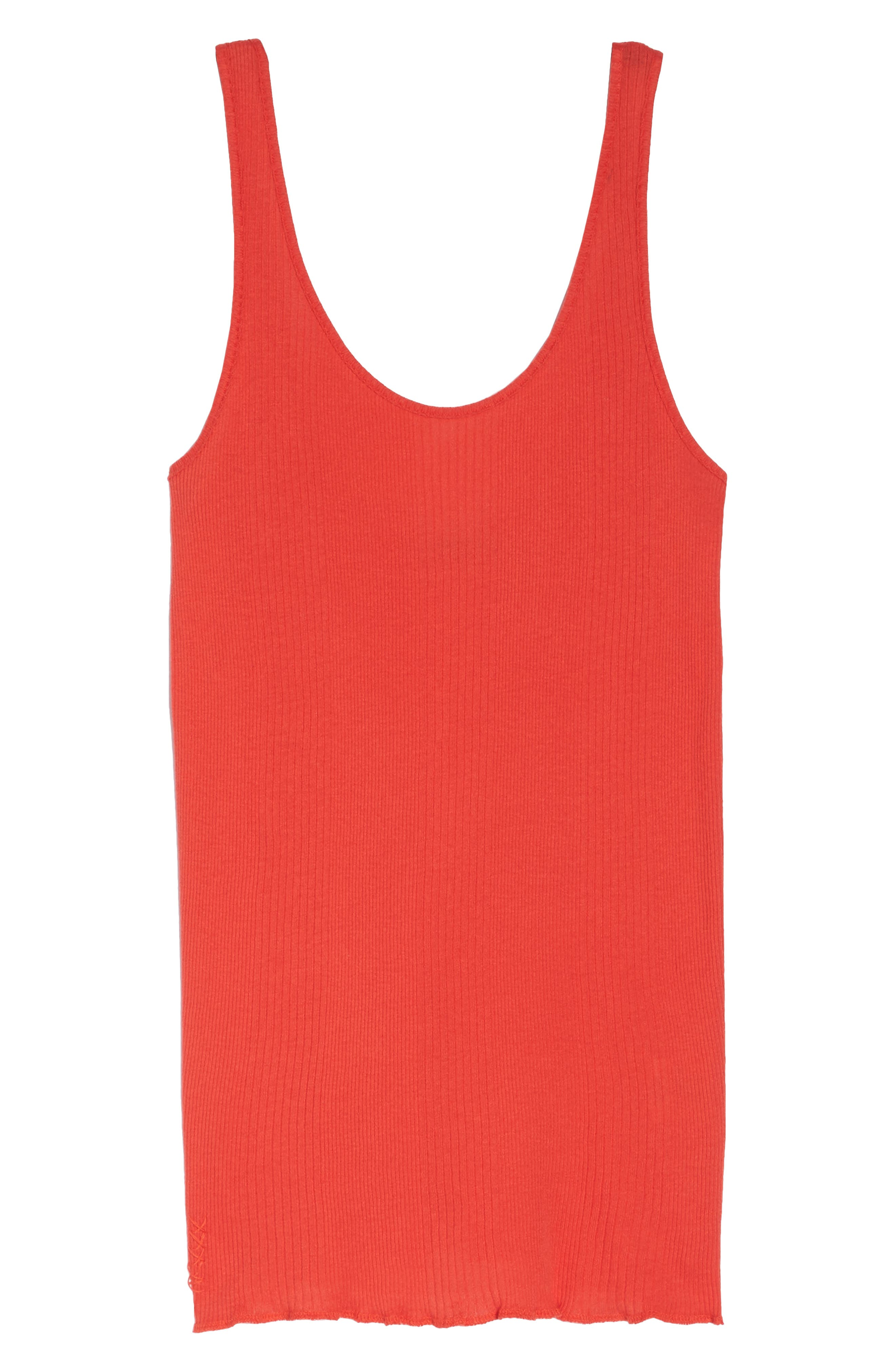 Scoop Neck Tank,                             Alternate thumbnail 6, color,