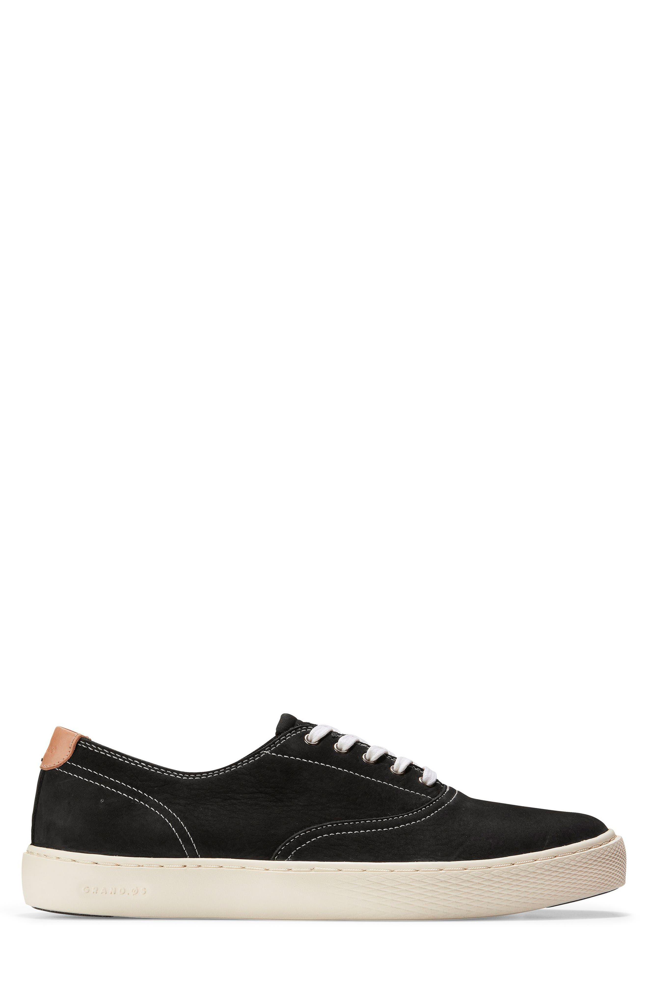 GrandPro Deck Low Top Sneaker,                             Alternate thumbnail 3, color,                             001