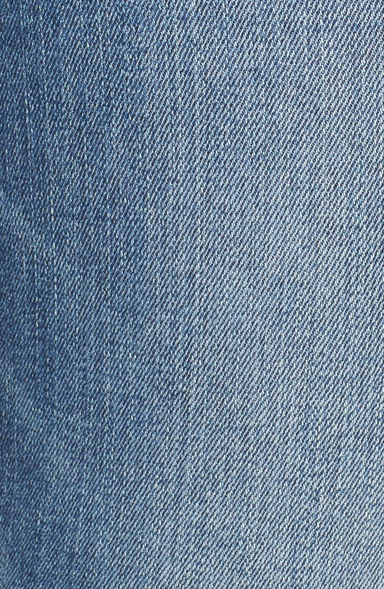 Transcend Vintage - Leggy Ultra Skinny Jeans,                             Alternate thumbnail 6, color,