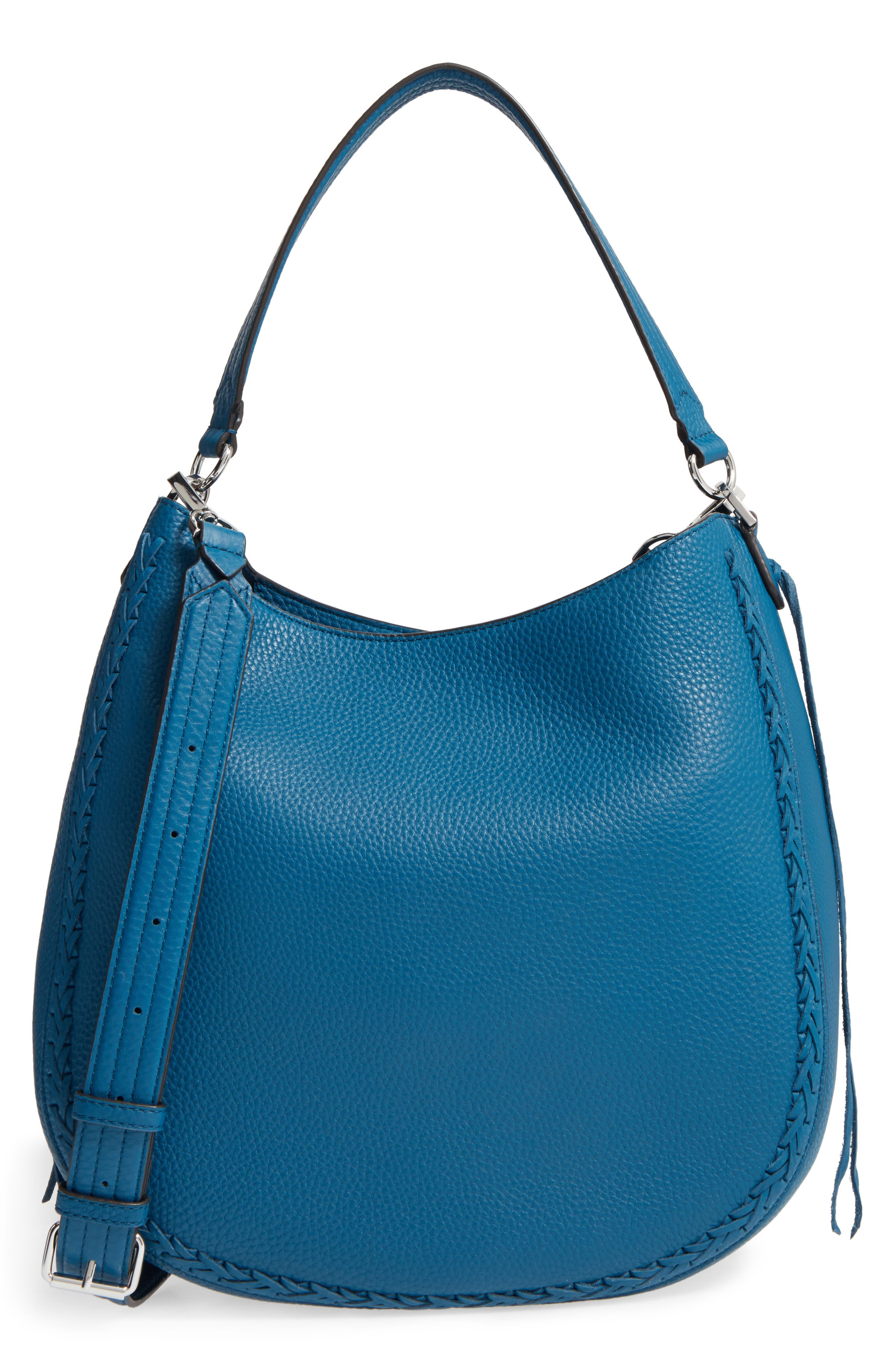 Unlined Convertible Whipstitch Hobo,                             Main thumbnail 5, color,