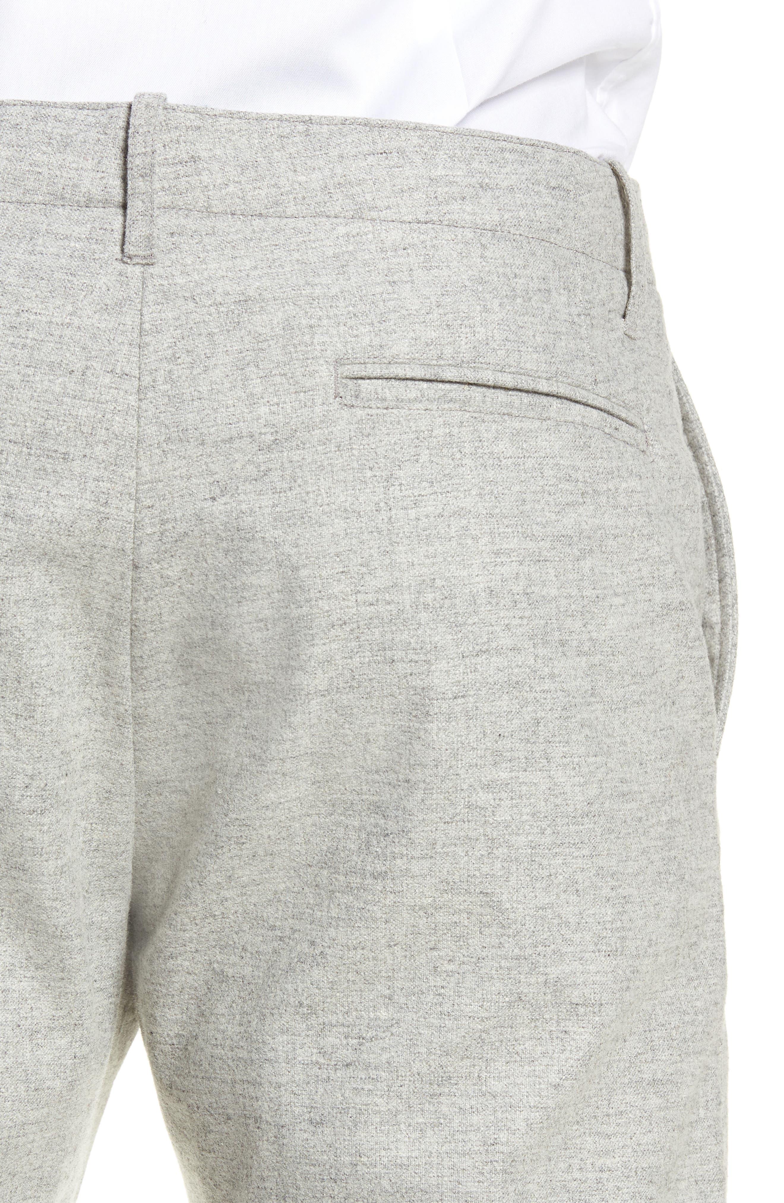 DJVU Slim Fit Trousers,                             Alternate thumbnail 4, color,                             027