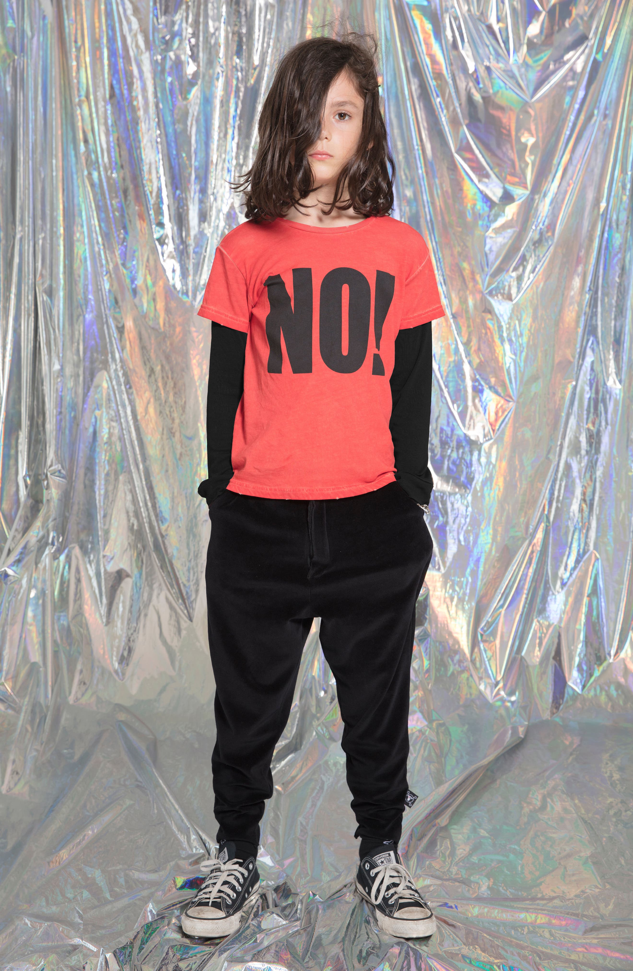 No! Graphic T-Shirt,                             Alternate thumbnail 5, color,                             600