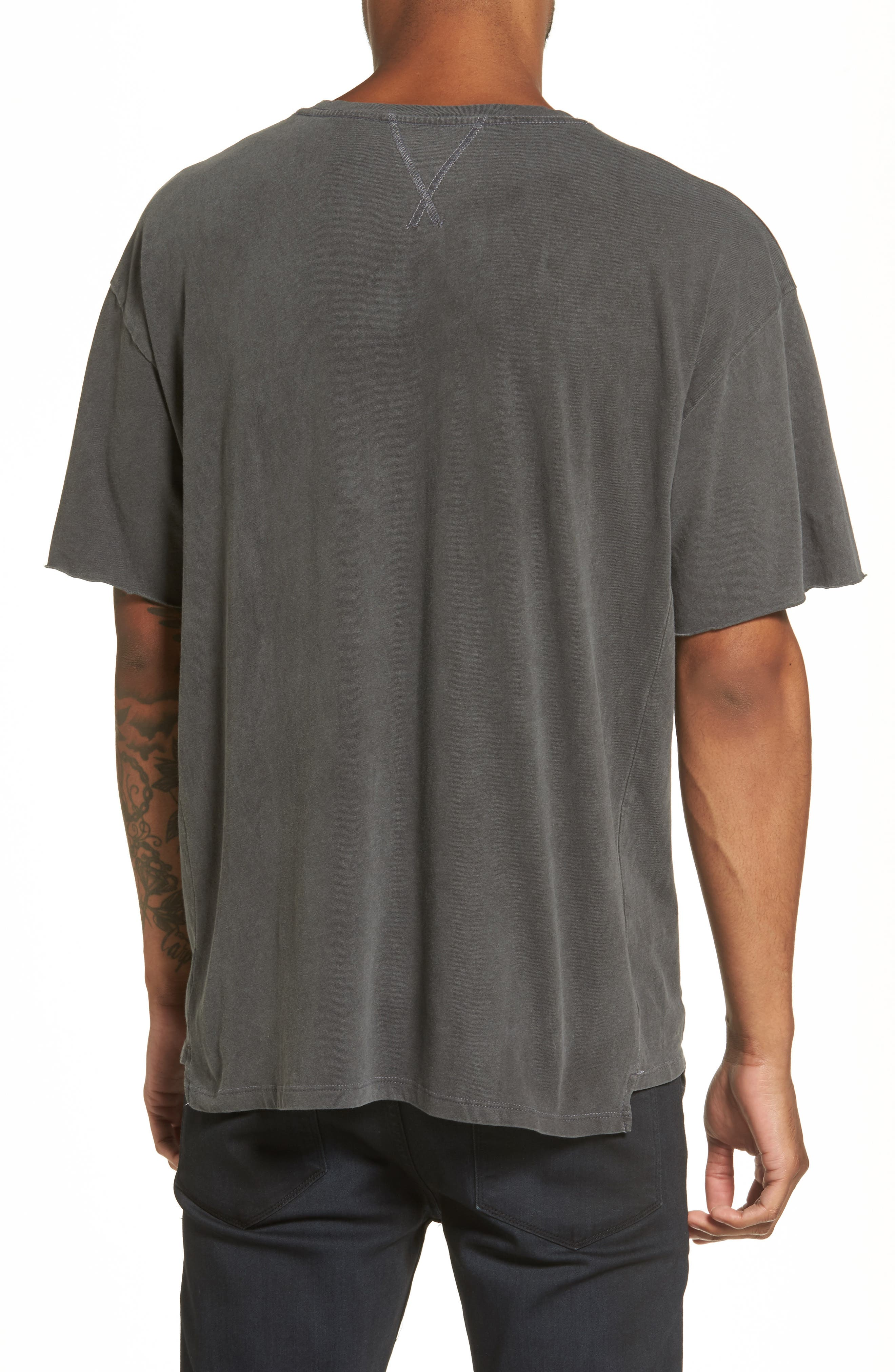 Mineral Wash T-Shirt,                             Alternate thumbnail 2, color,                             001