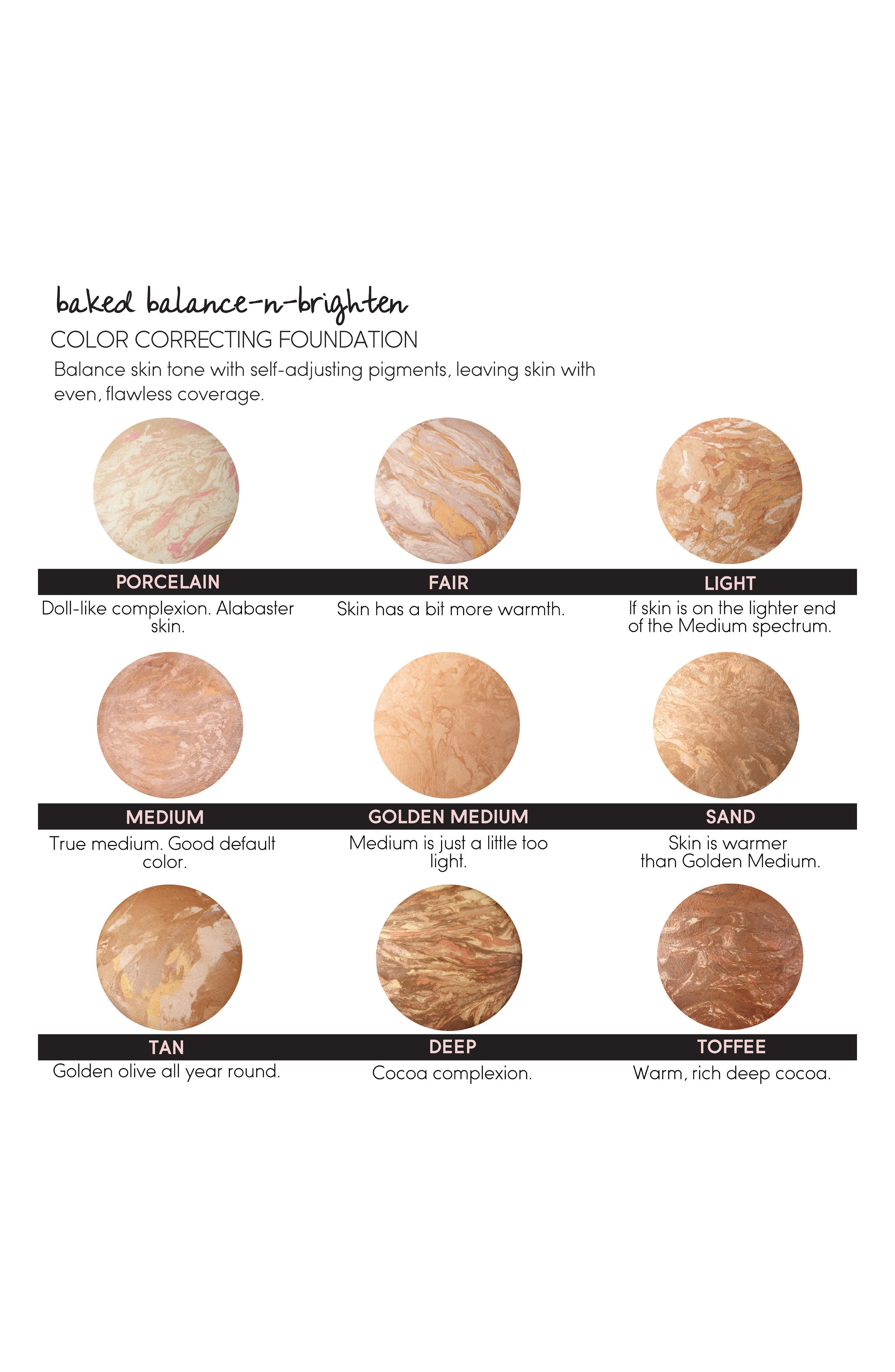 LAURA GELLER BEAUTY,                             Balance-n-Brighten Baked Color Correcting Foundation,                             Alternate thumbnail 2, color,                             TAN