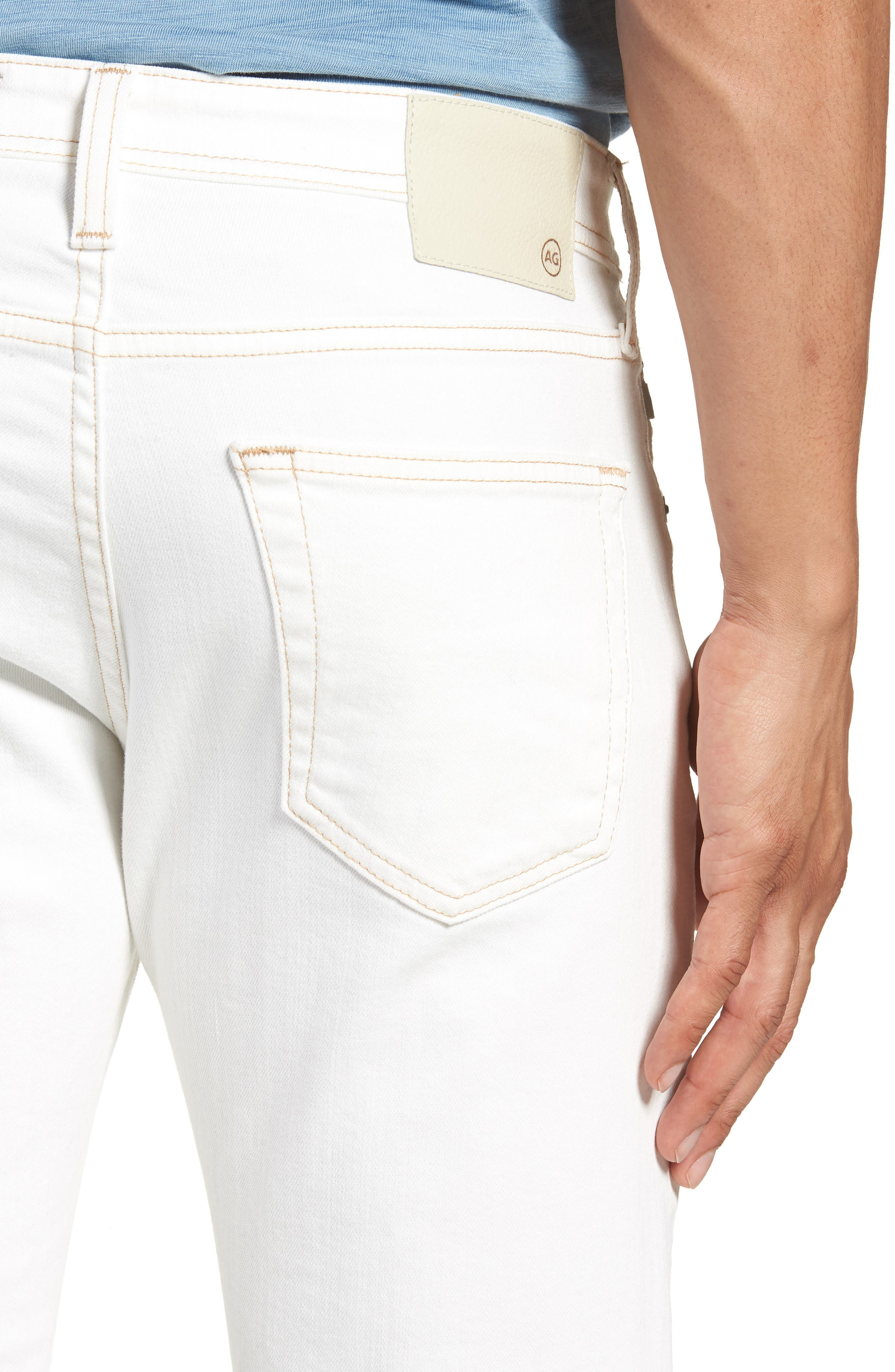 Tellis Slim Fit Jeans,                             Alternate thumbnail 4, color,                             109